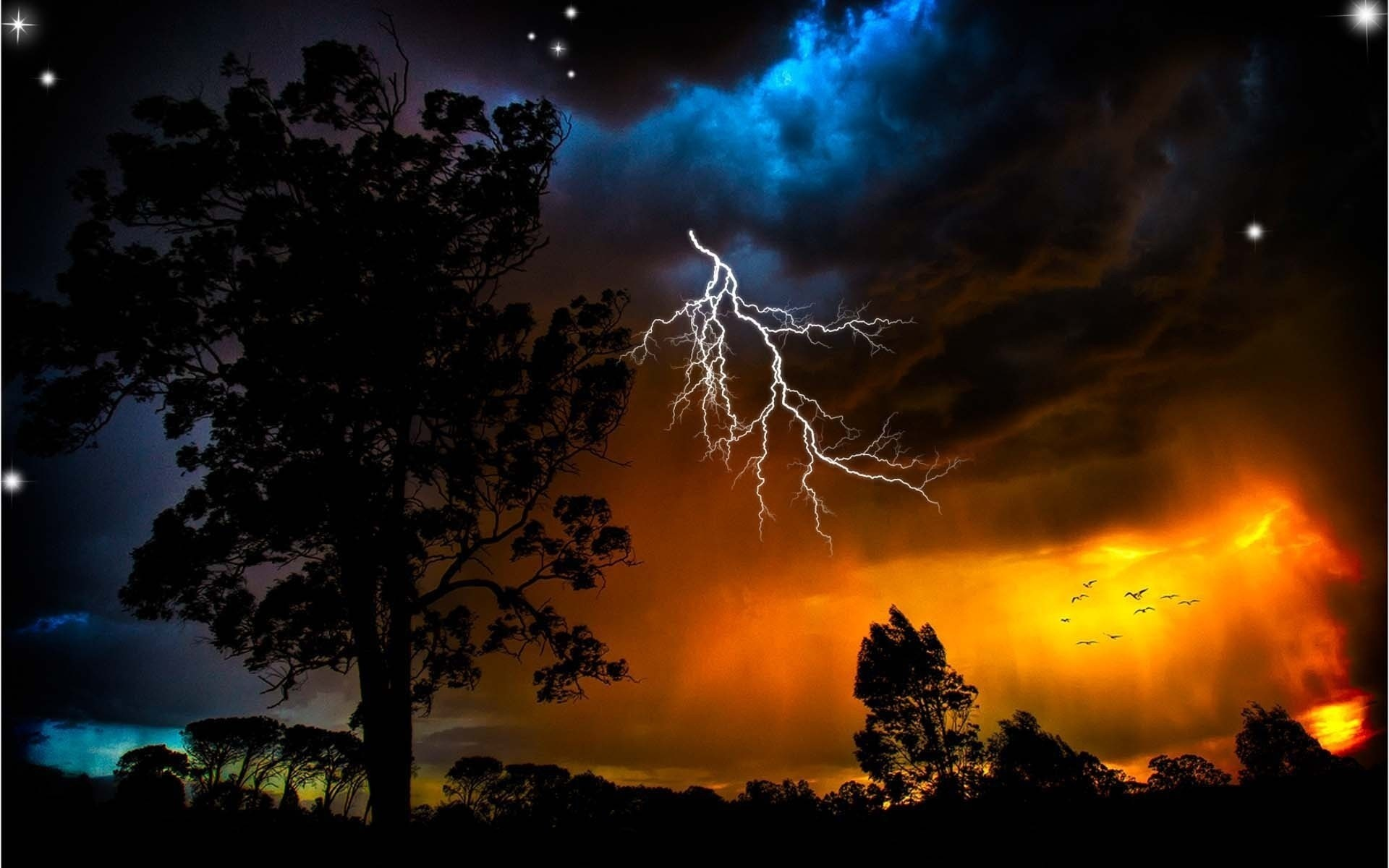 Cool Lightning wallpaper | 1920x1200 | #33382