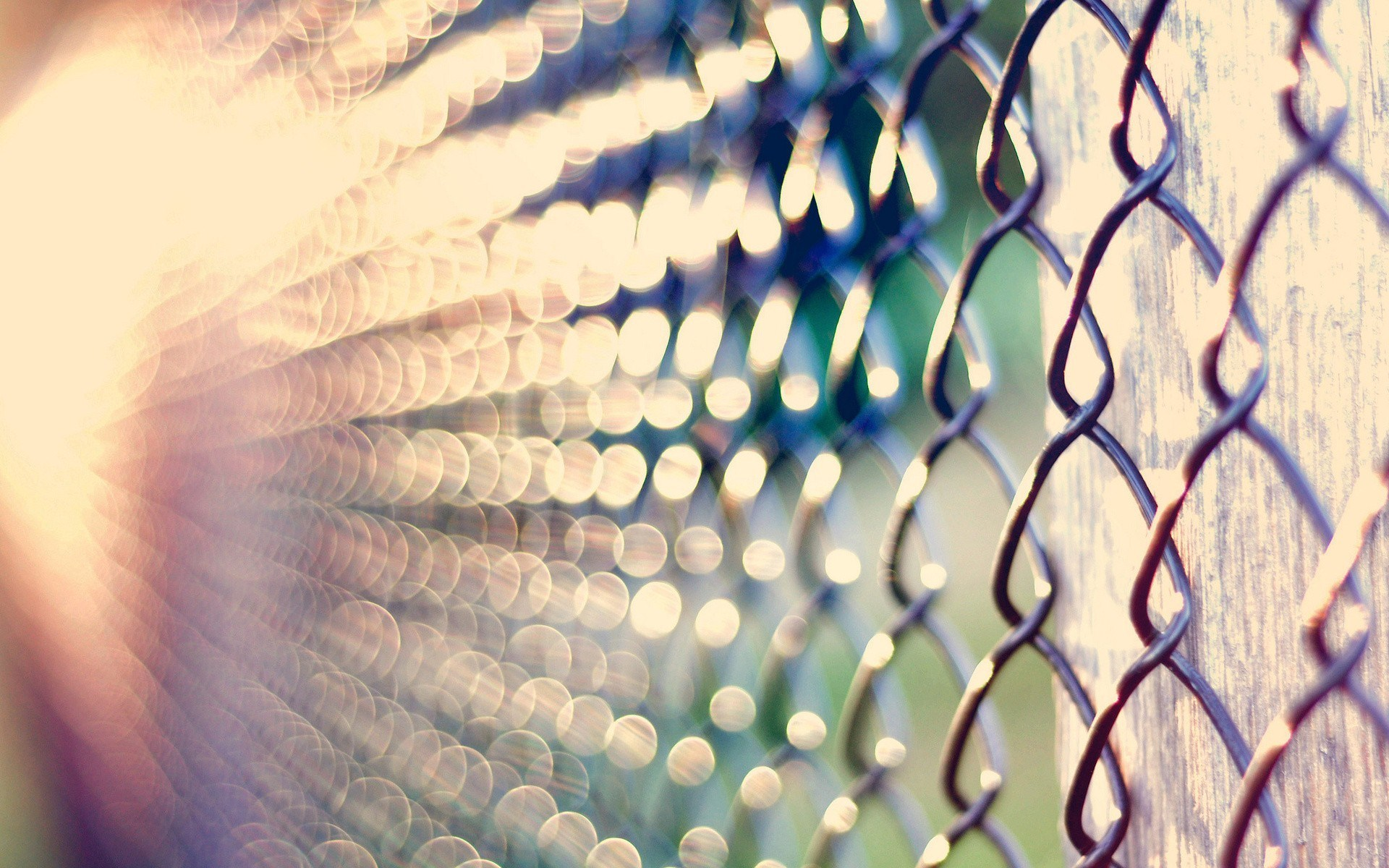 Cool Metal Fence Wallpaper