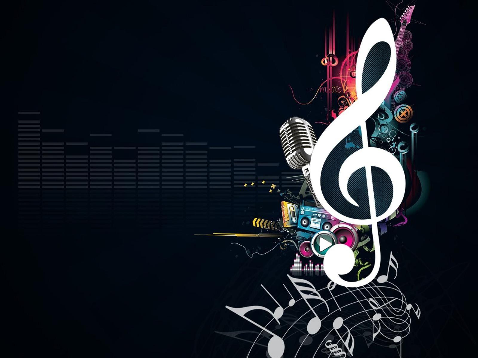 Hd Wallpapers Music Microphone Kb Jpeg