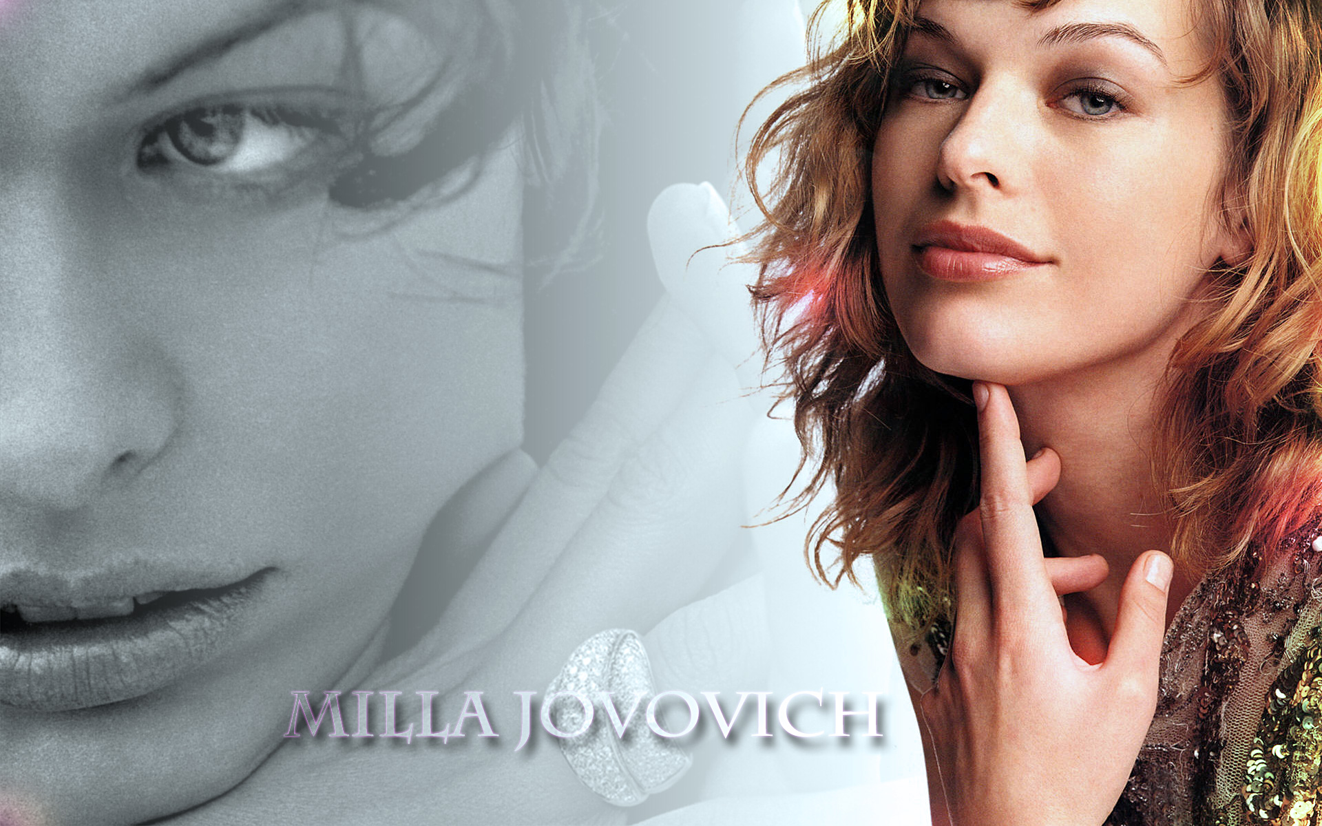Cool Milla Jovovich Wallpaper