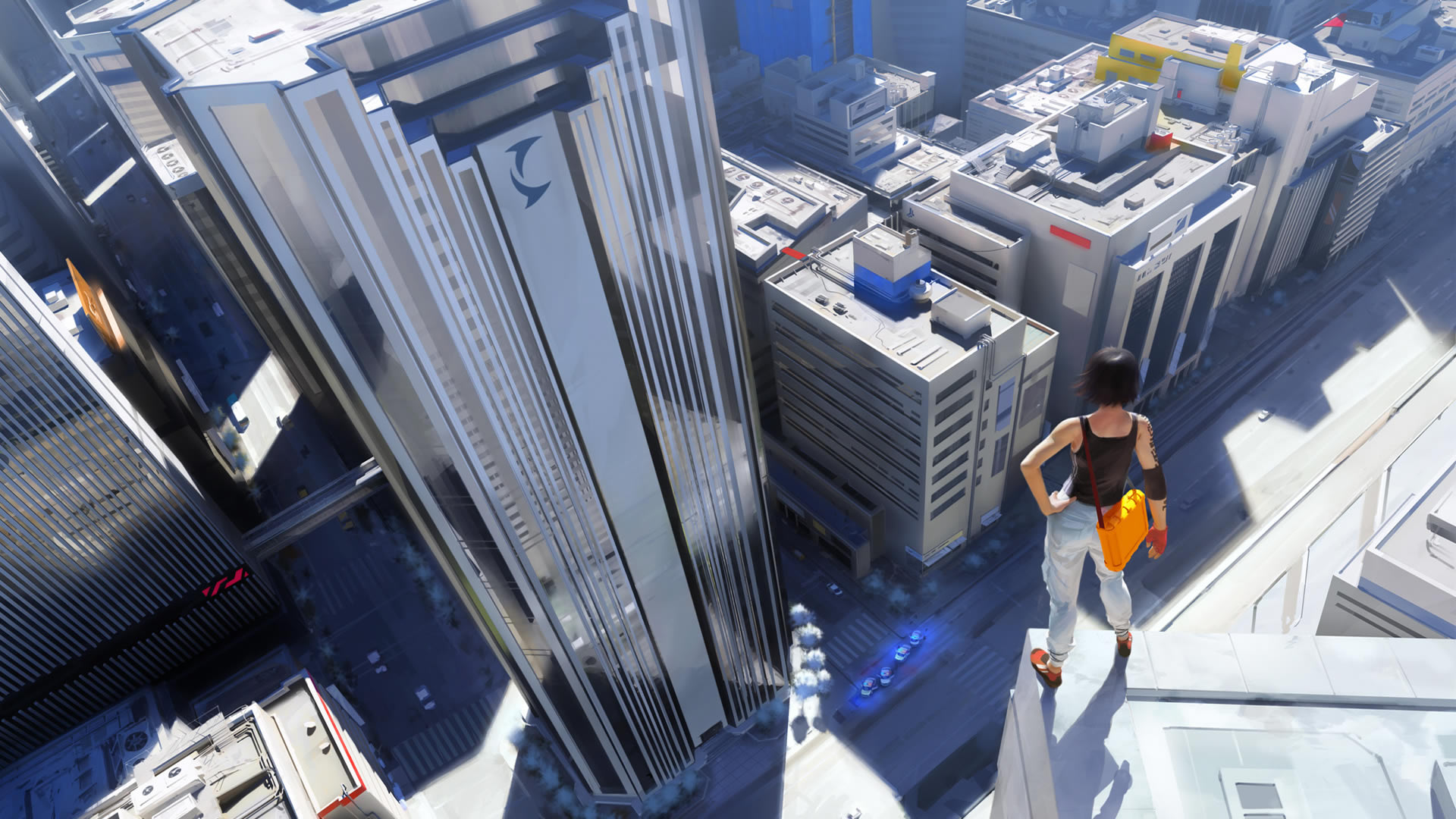 Cool Mirrors Edge Wallpaper