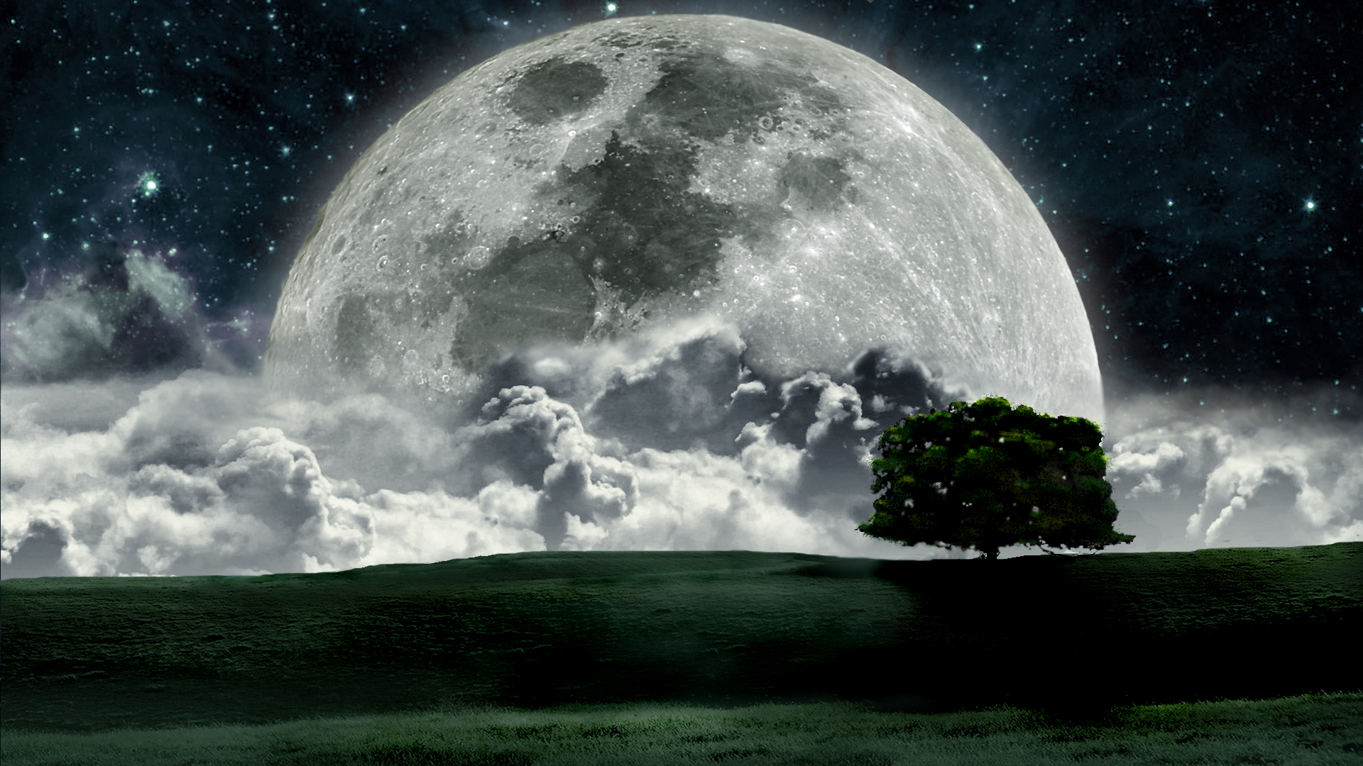 Cool Moon Wallpaper