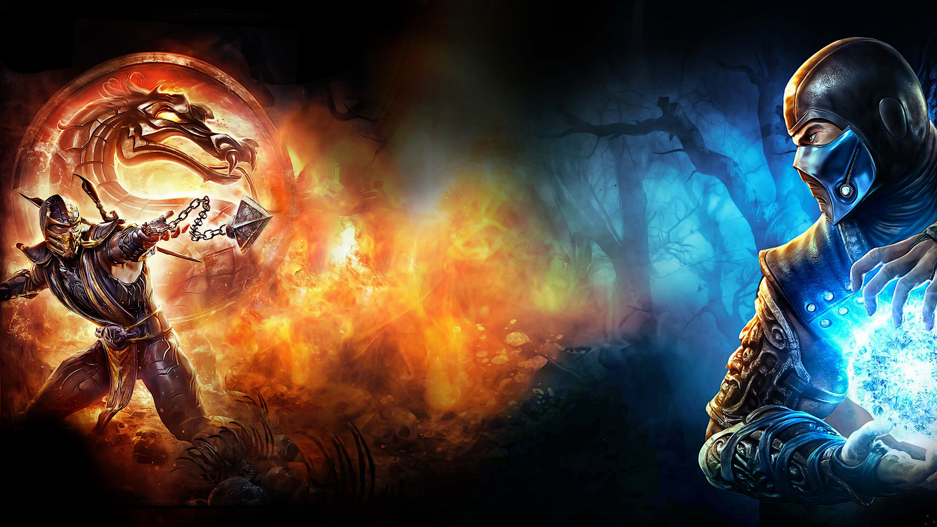 Cool Mortal Kombat Wallpaper