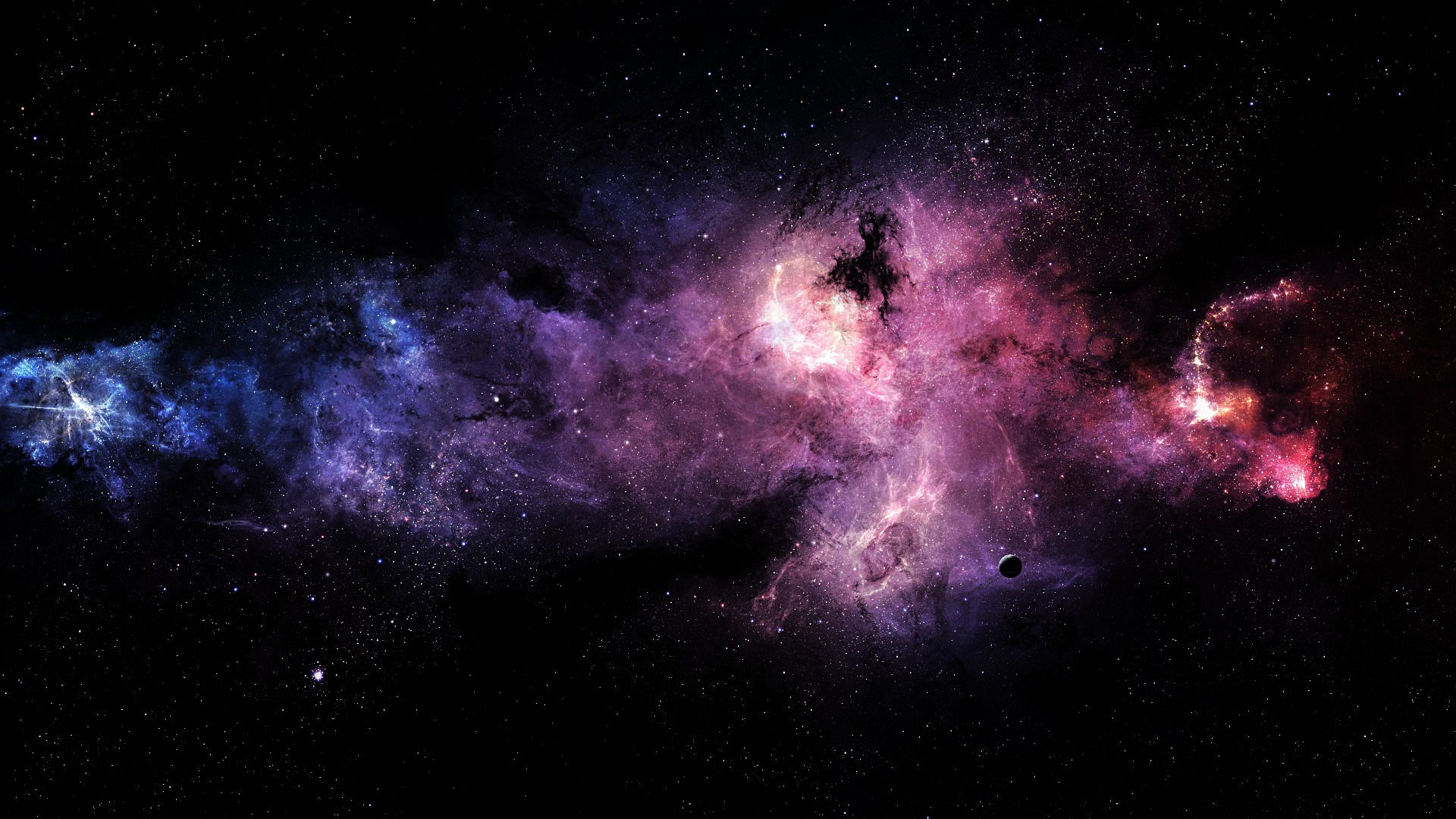 Cool Nebula Wallpaper