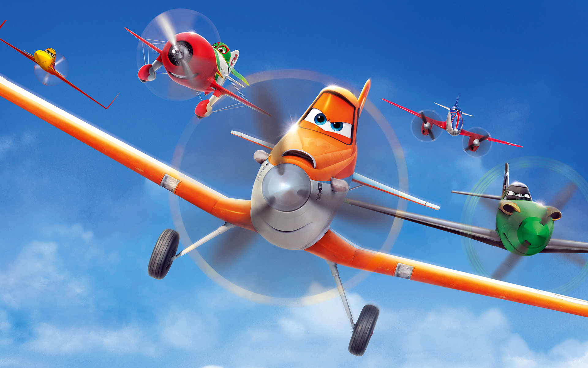 Cool Planes Movie Wallpaper