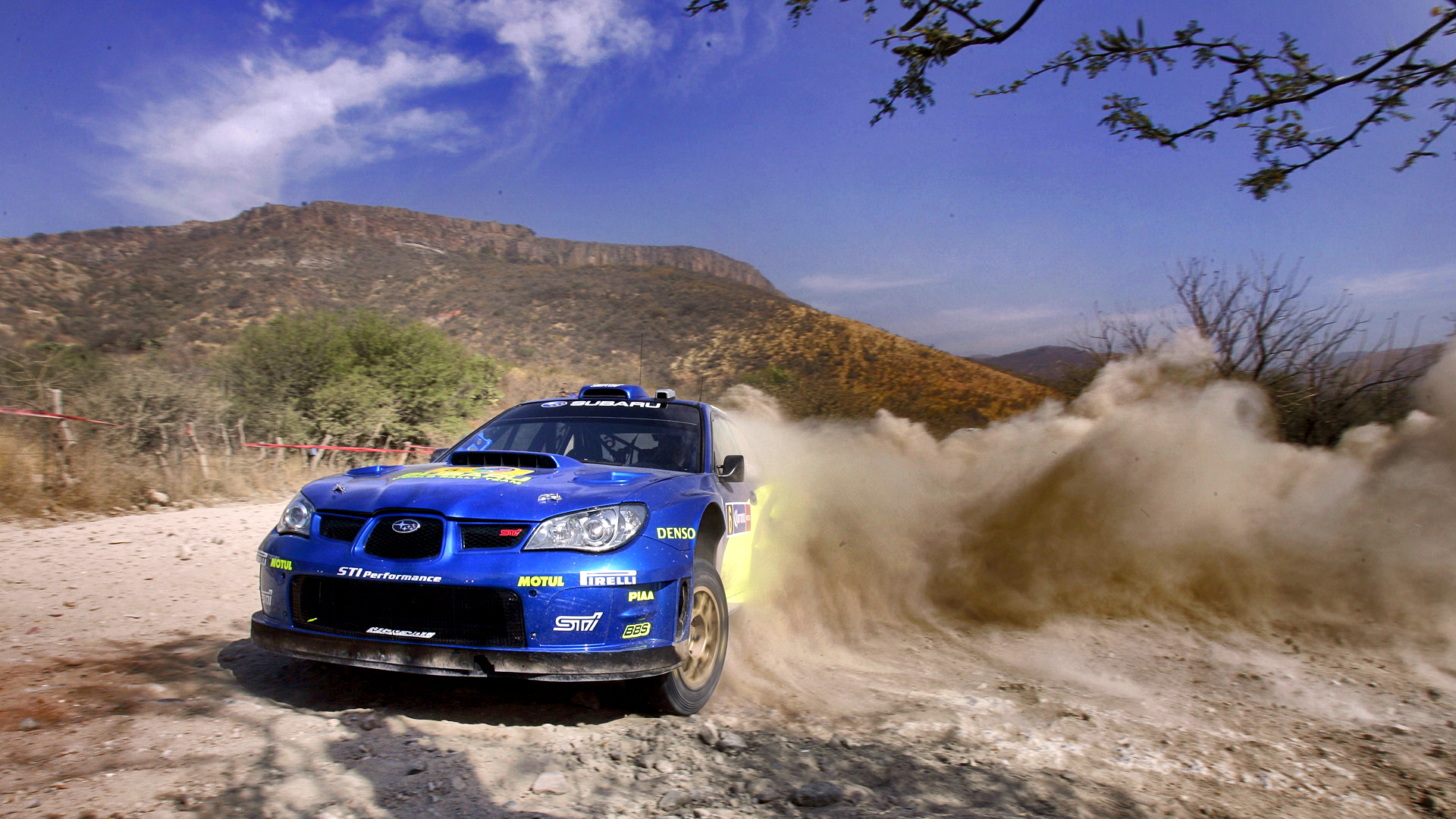 Cool Rally Wallpaper