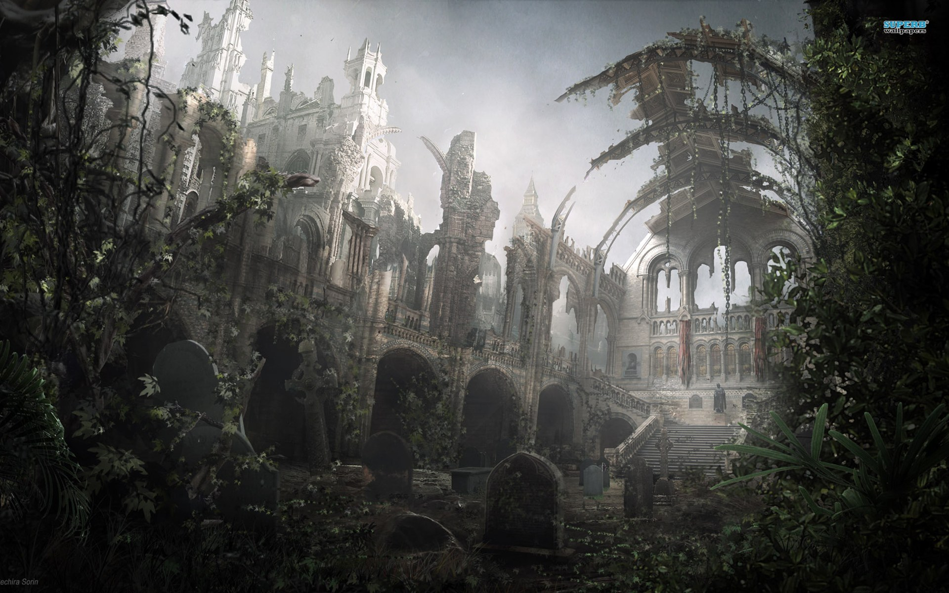 Cool Ruins Wallpaper