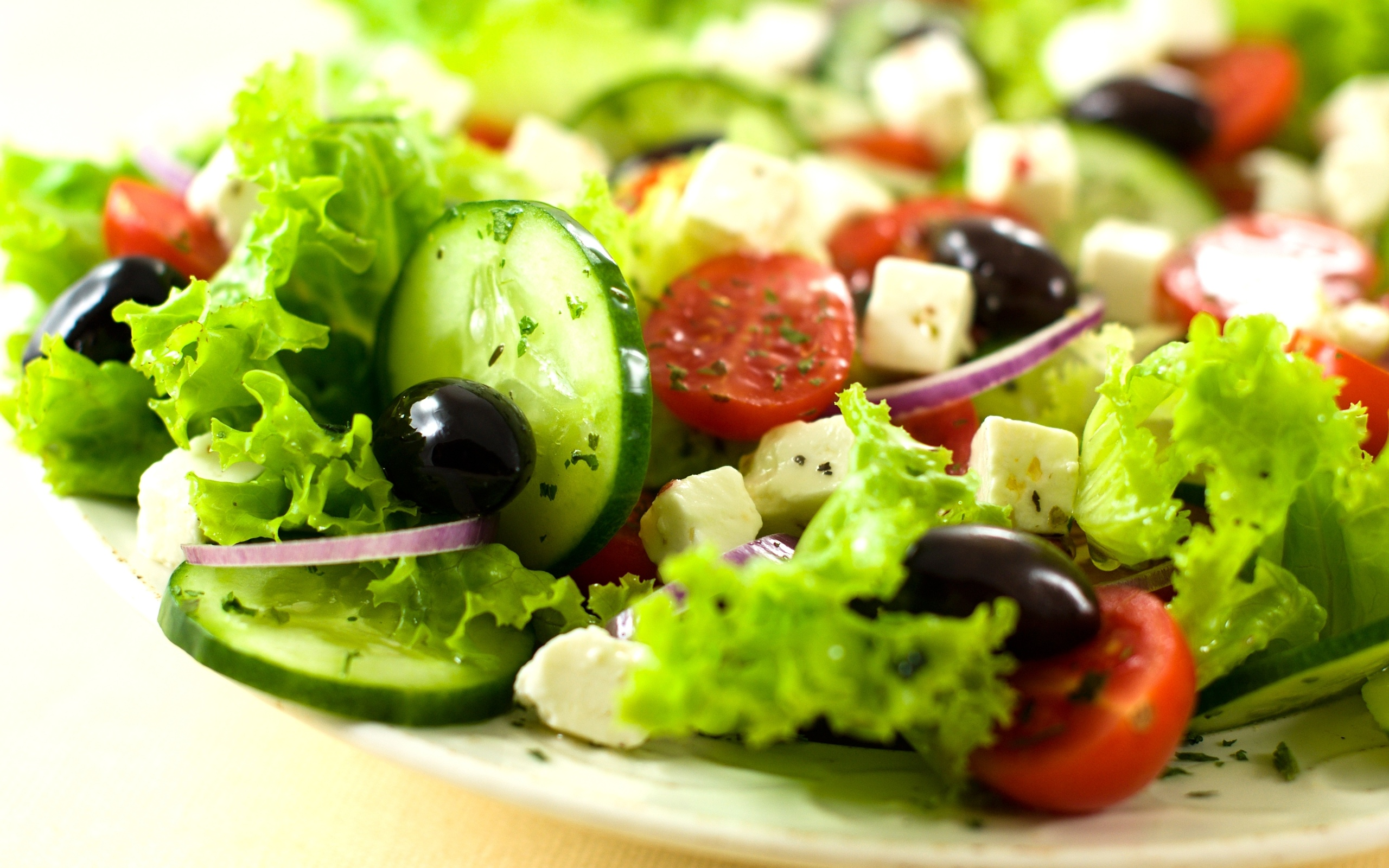 Cool Salad Wallpaper