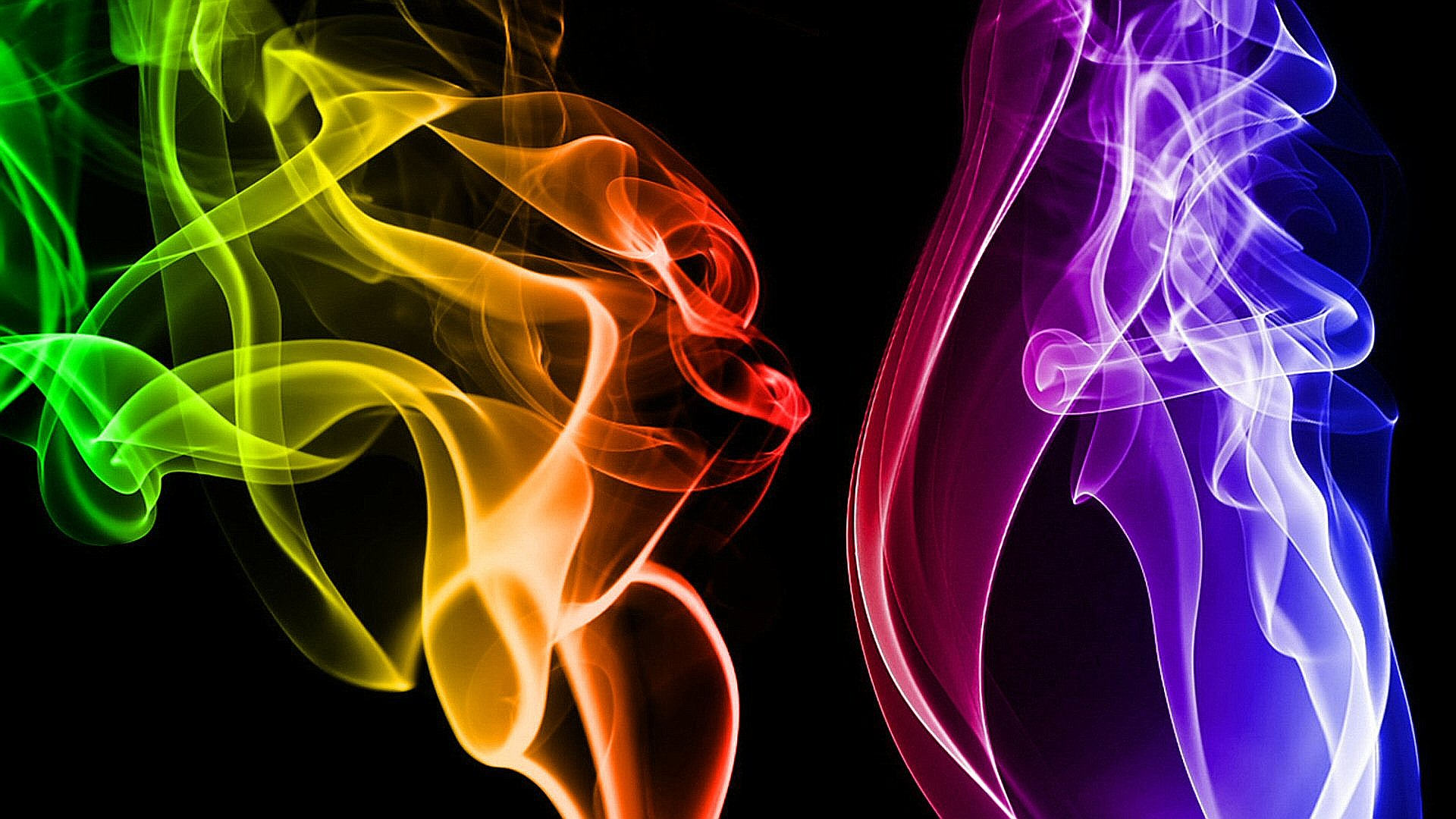 Cool Smoke Wallpaper