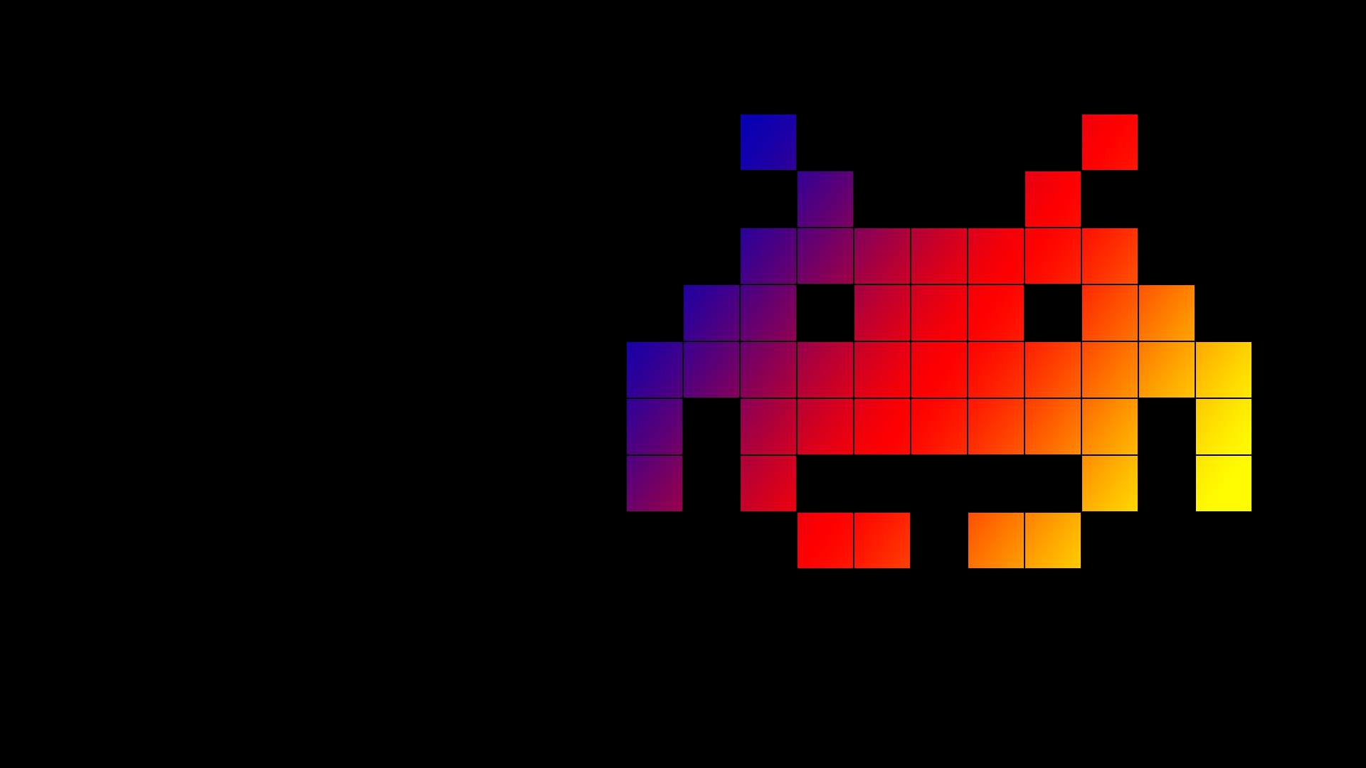 Cool Space Invaders Wallpaper