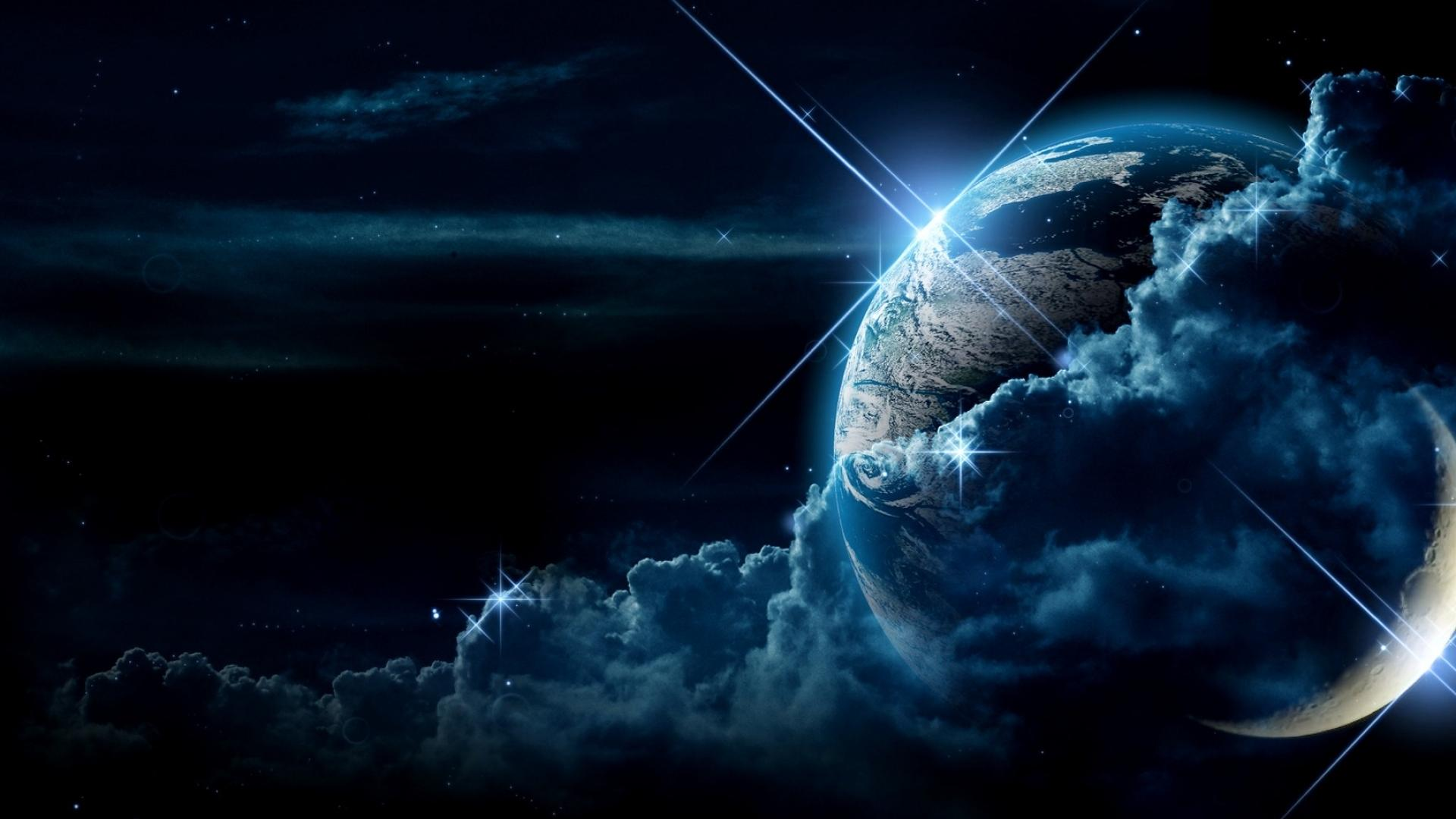 Hd Wallpaper Earth Space 1920x1080px