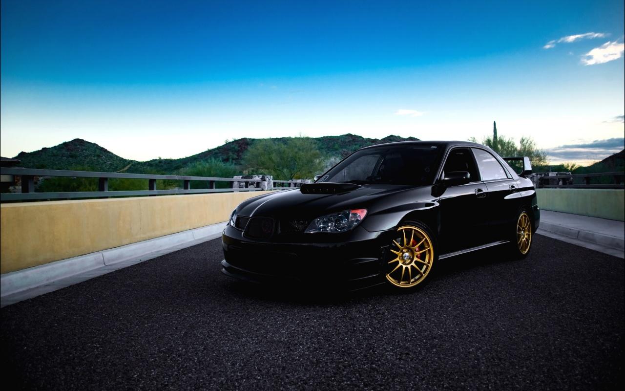 Cool Subaru Impreza Wallpaper 1280x800 16584
