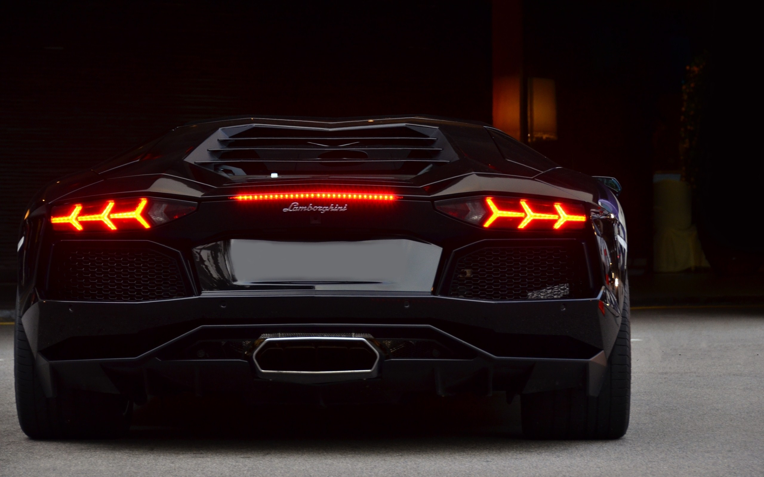 Cool Tail Lights Wallpaper