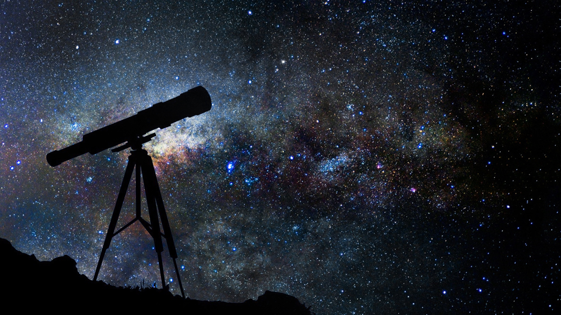Cool Telescope Wallpaper