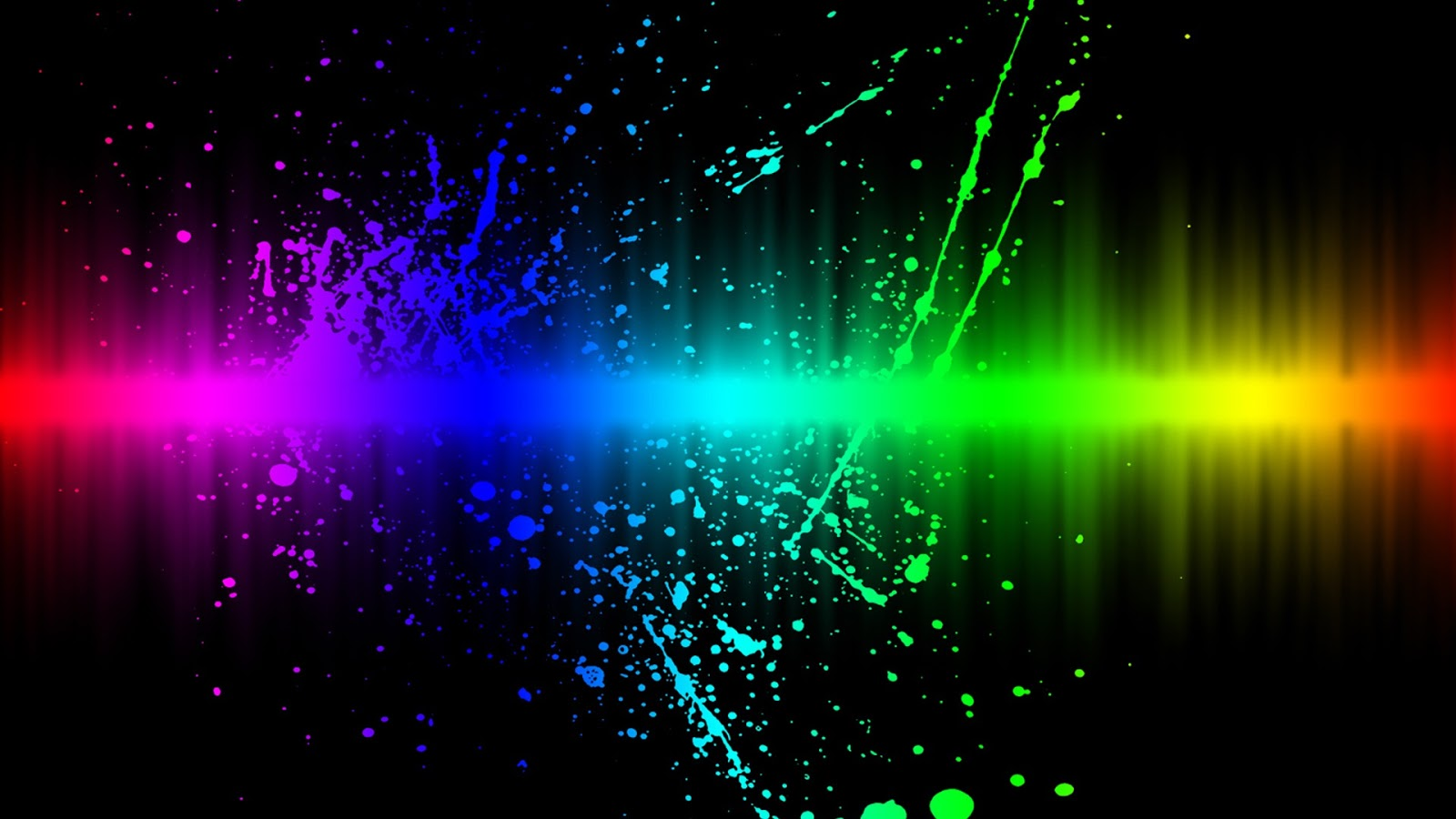 Wallpaper Cool Wallpapers Rainbow Degradation