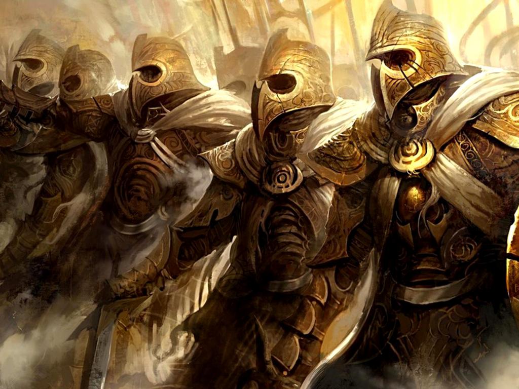 Cool Warriors Wallpaper
