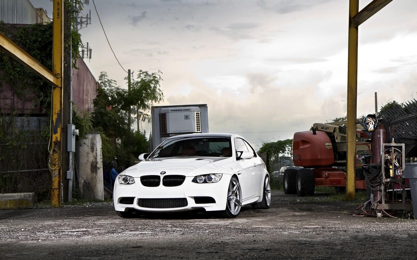 Cool White BMW Wallpaper