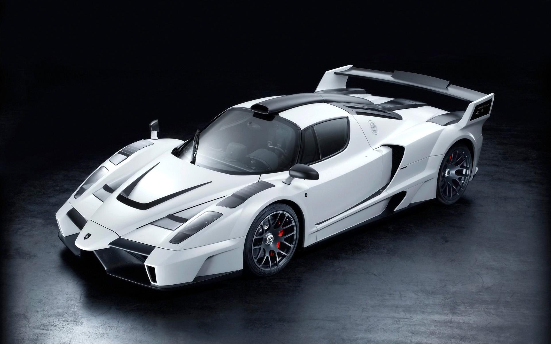 Cool White Ferrari Wallpaper