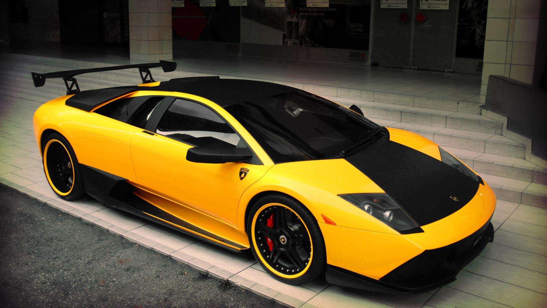Cool Yellow Lamborghini Wallpaper
