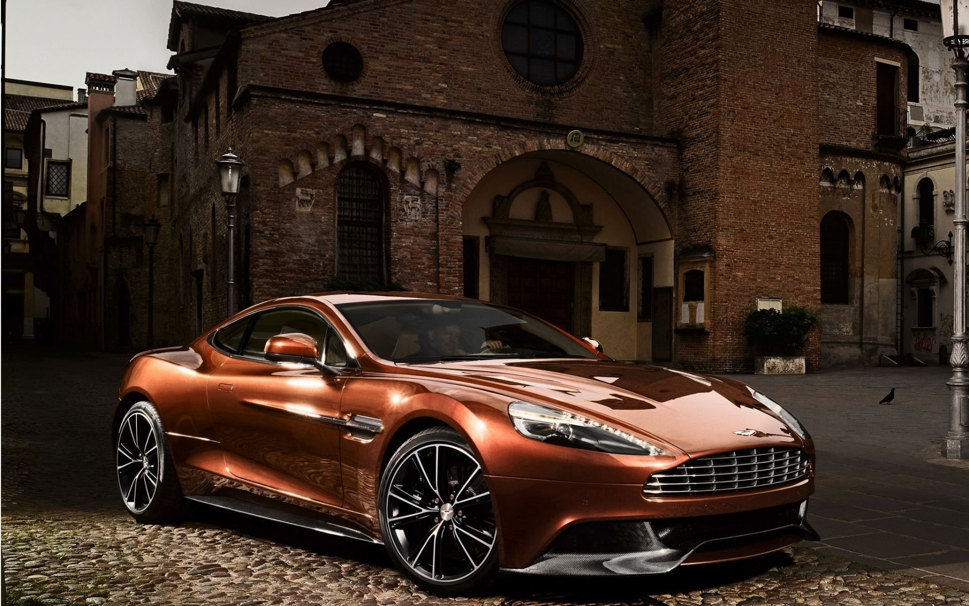 Copper Aston Martin