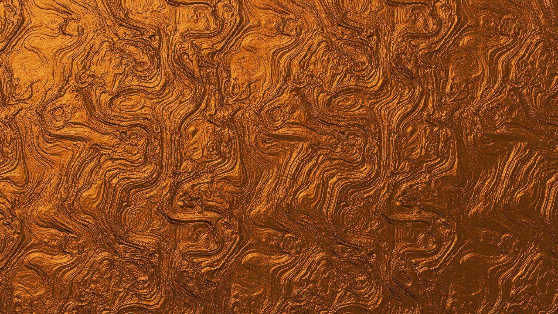 Widescreen resolutions (16:10): 1280x800 1440x900 1680x1050 1920x1200. Normal resolutions: 1024x768 1280x1024. Wallpaper Tags: swirls textured copper