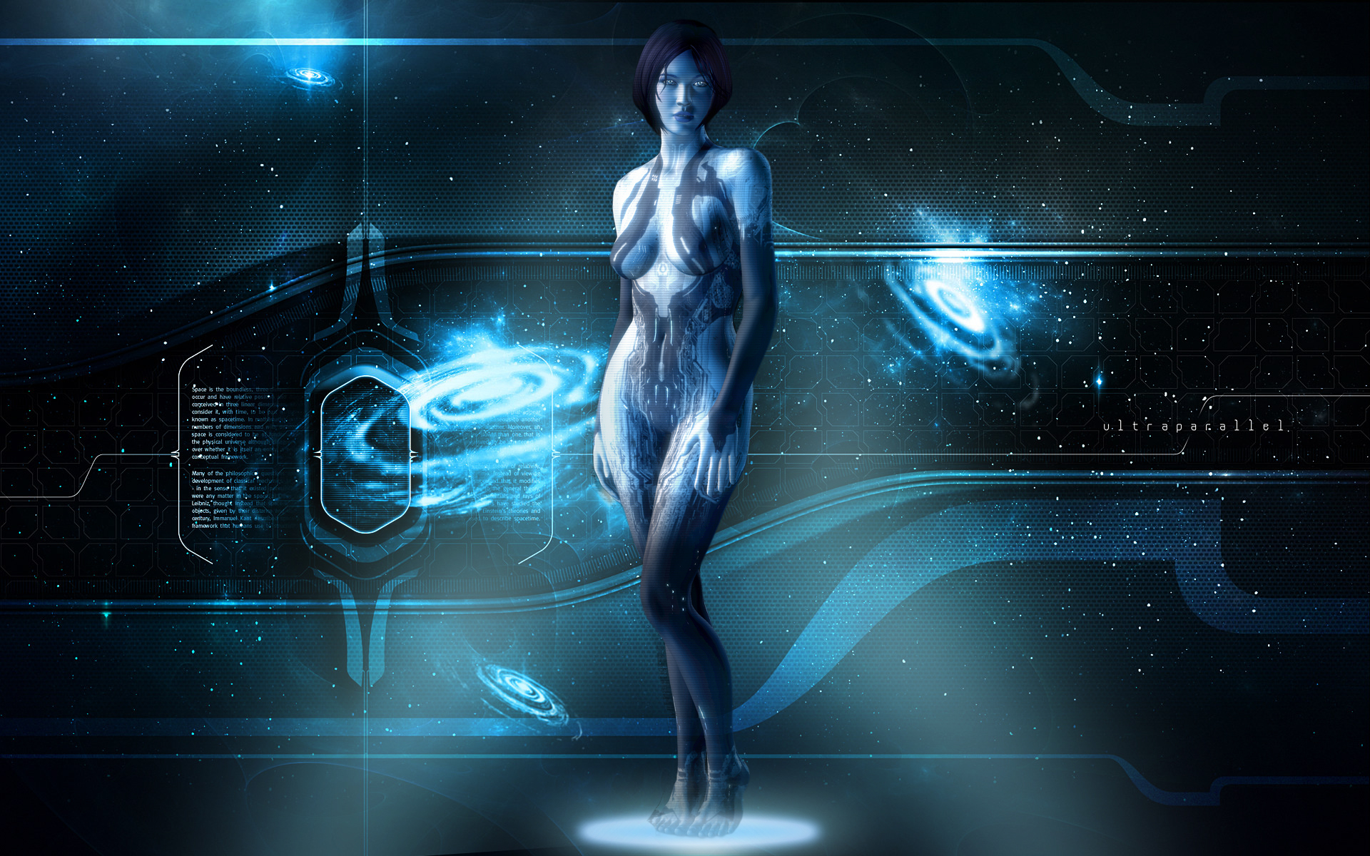 Cortana Wallpaper