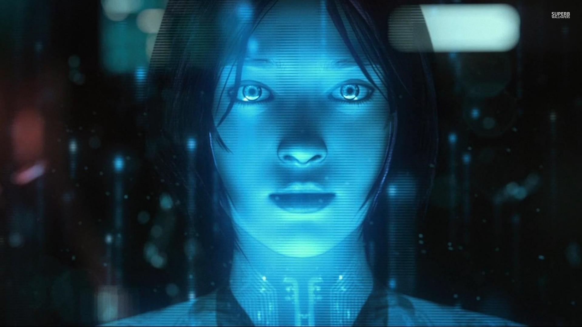 Cortana - Halo 4 wallpaper 1920x1080