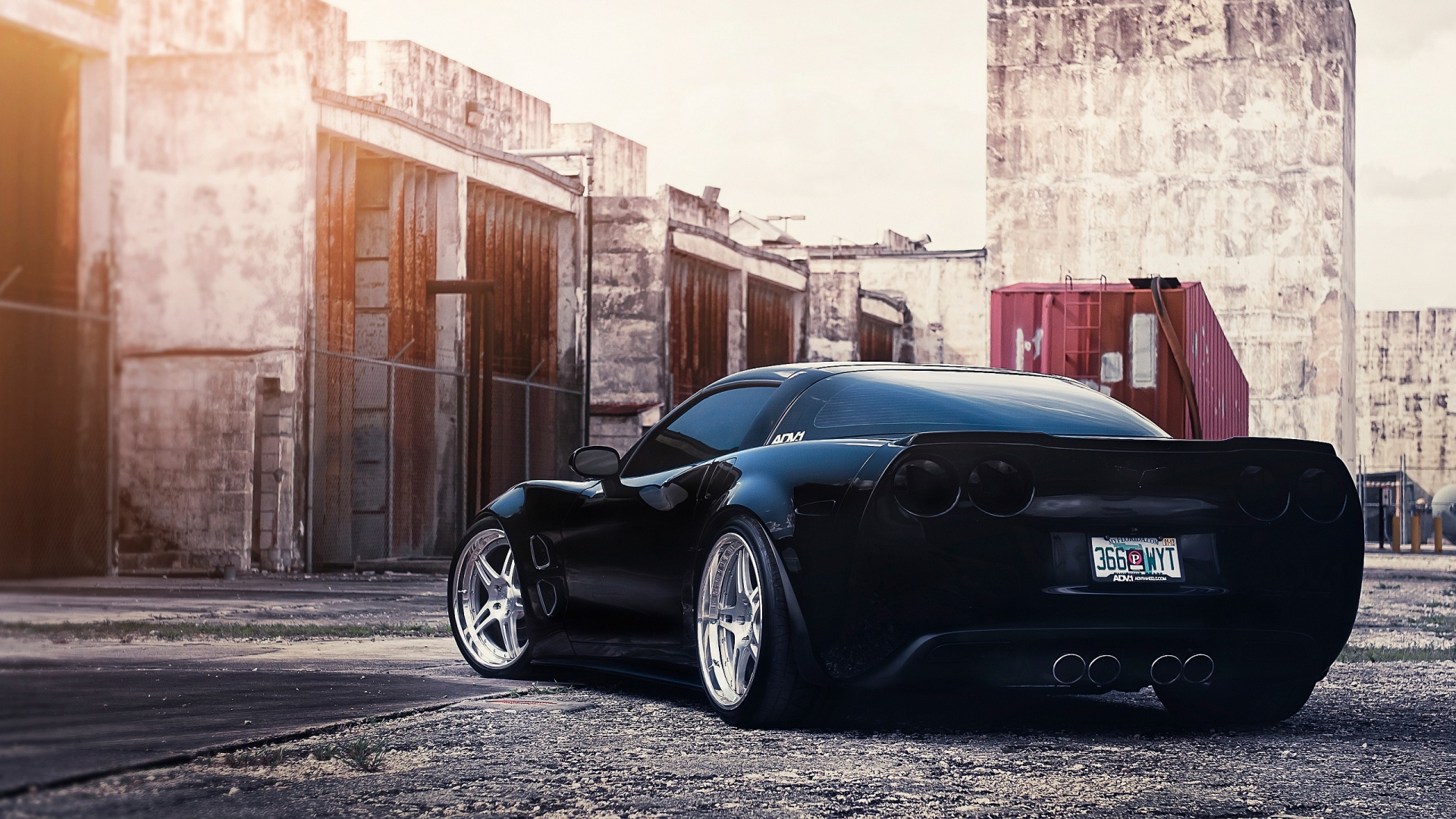 Corvette ADV1 Wheels Wallpaper in 1920x1080 HD Resolutions