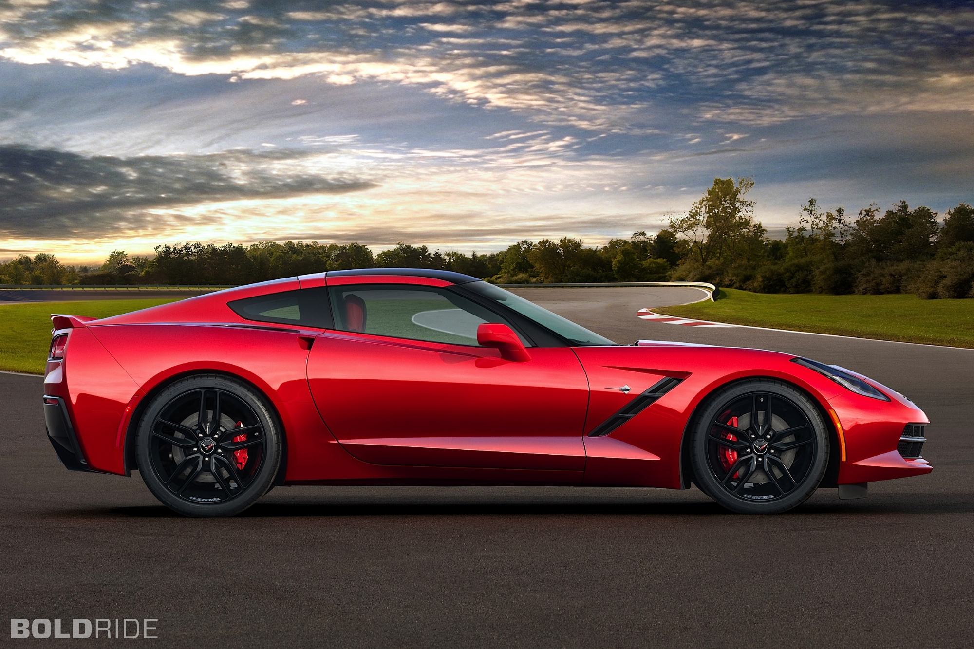 2014 Chevrolet Corvette Stingray 1280 x 1080