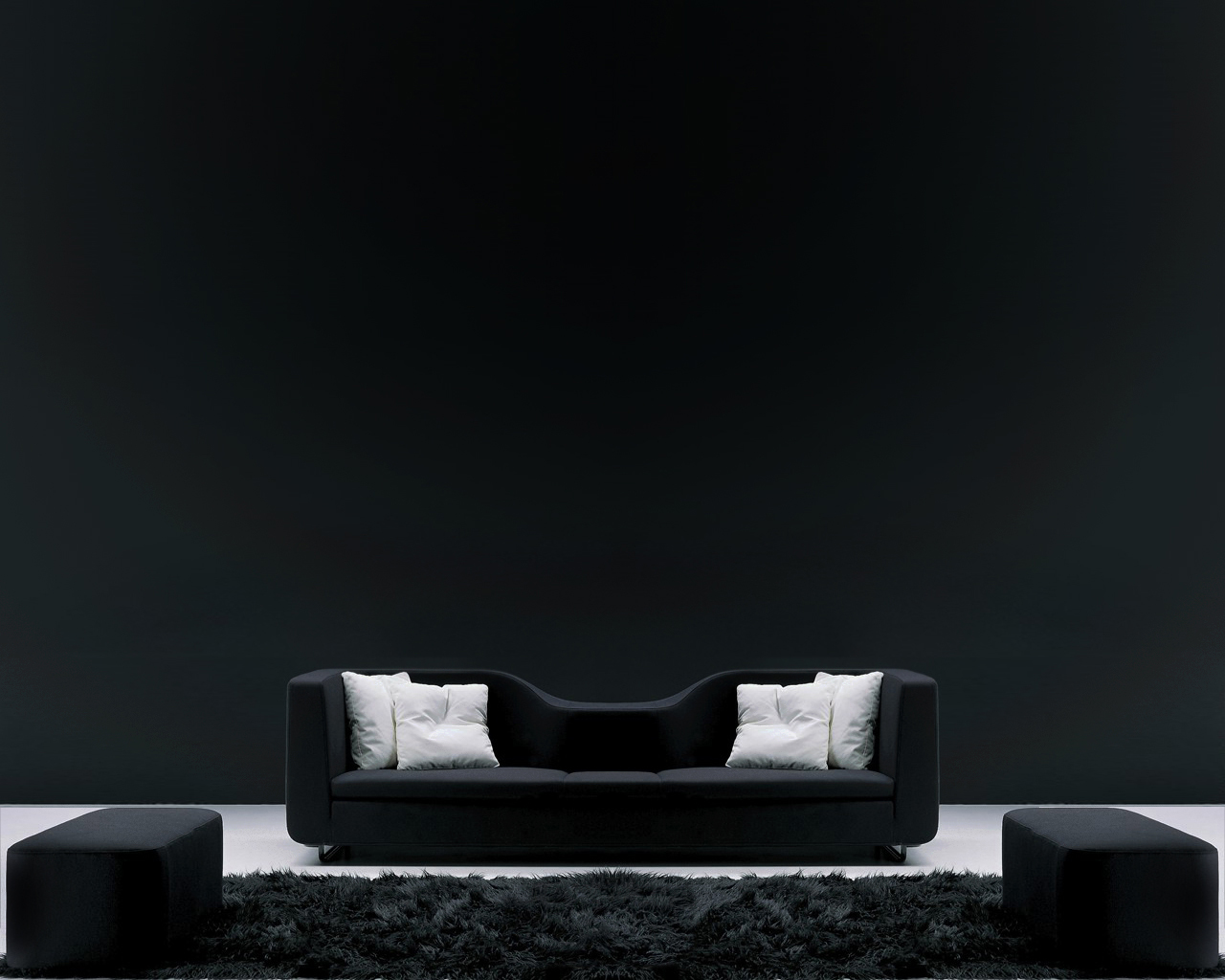 Black Couch White Fresh New Hd Wallpaper