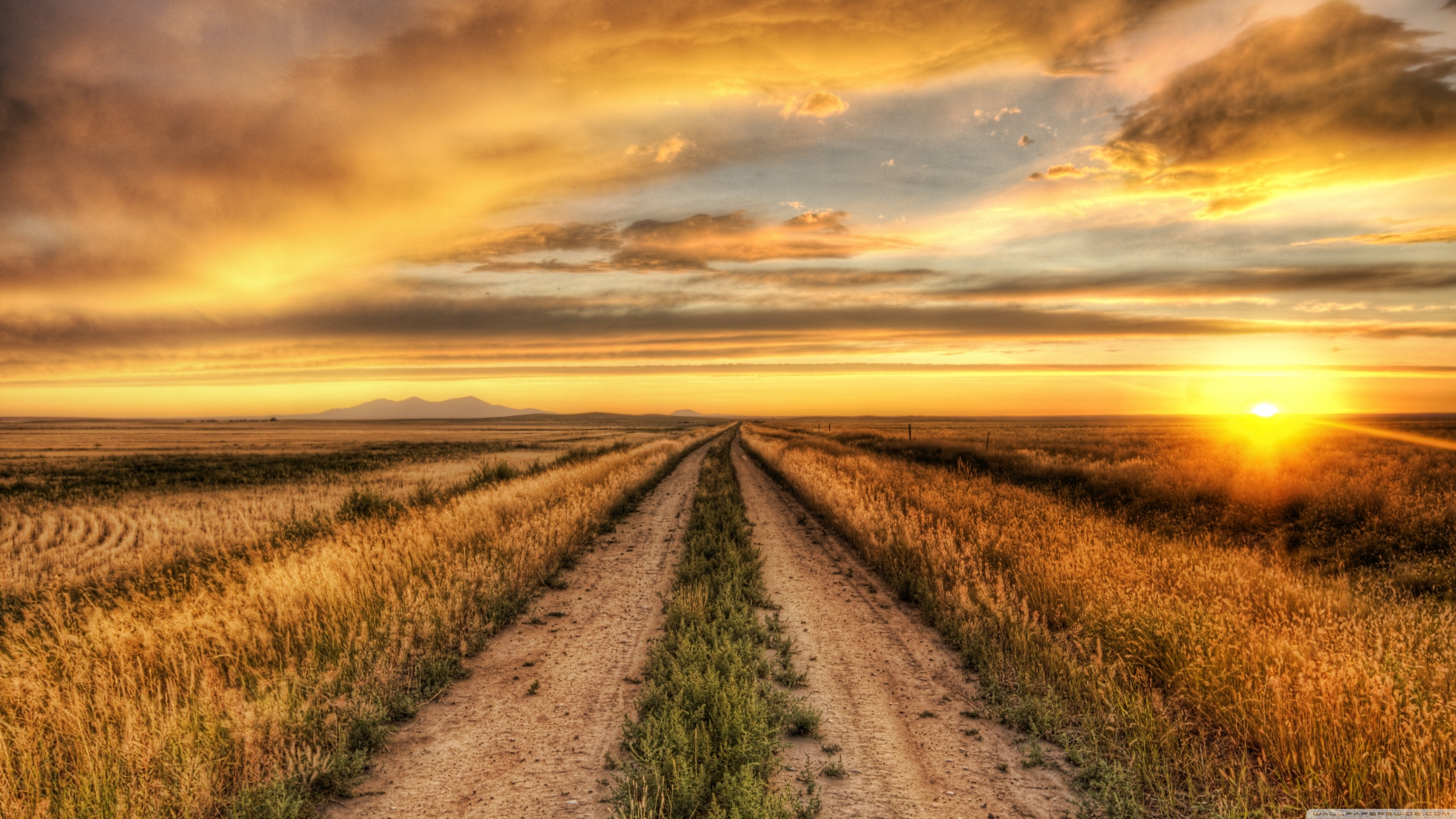 Country Sunset Wallpaper 5351