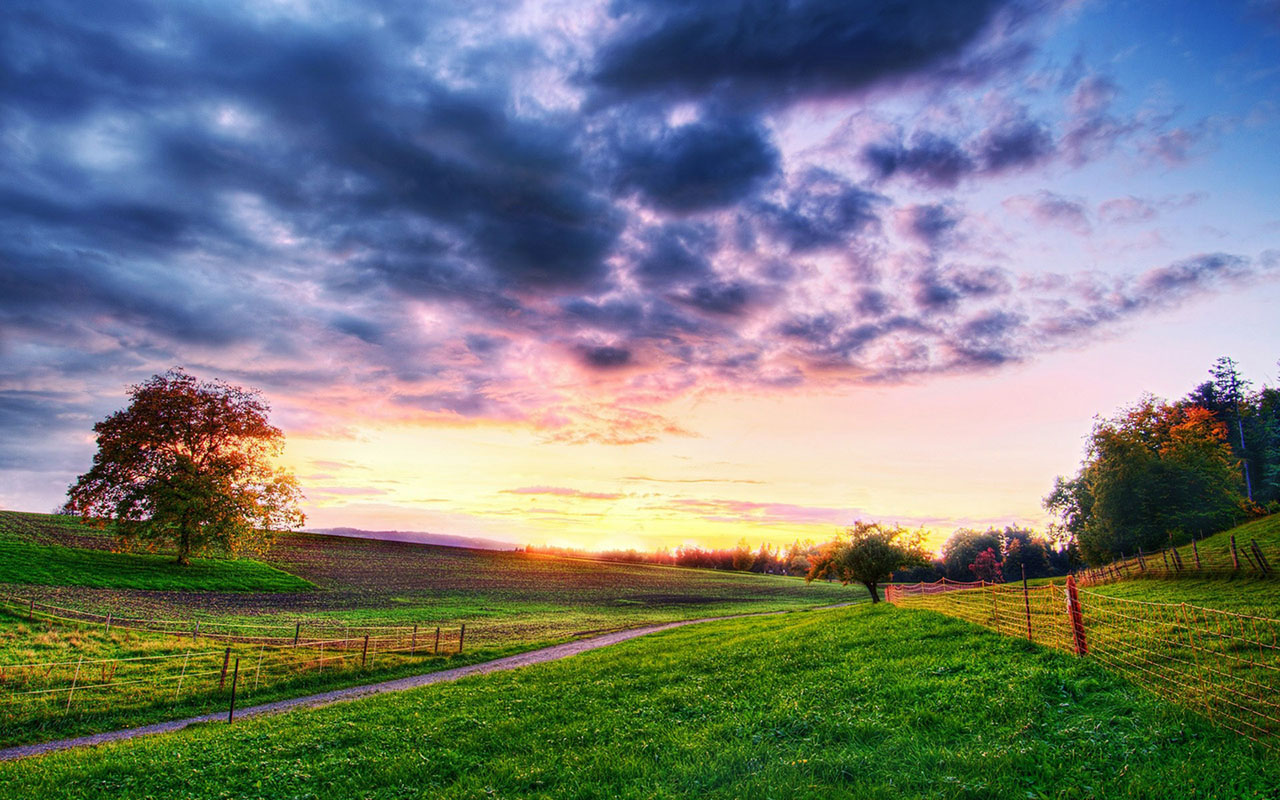 Beautiful Countryside Wallpaper