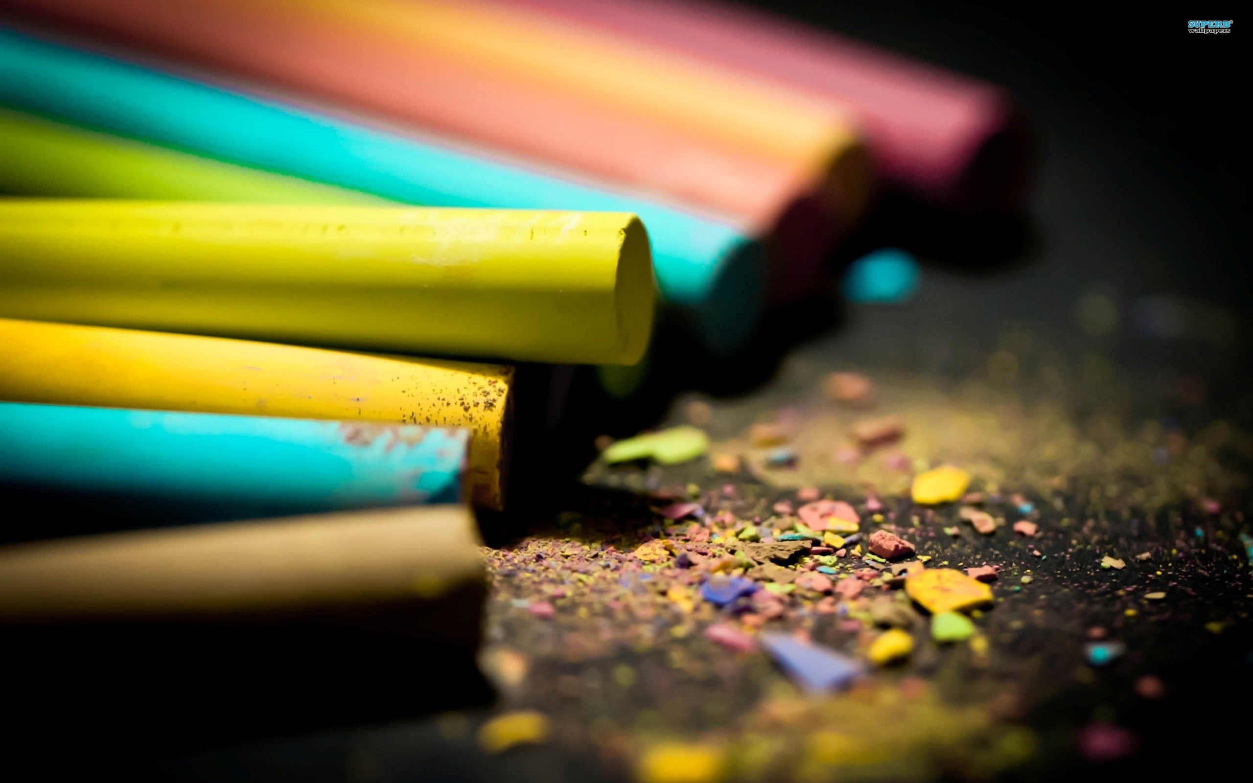 Crayons wallpaper 2560x1600 jpg