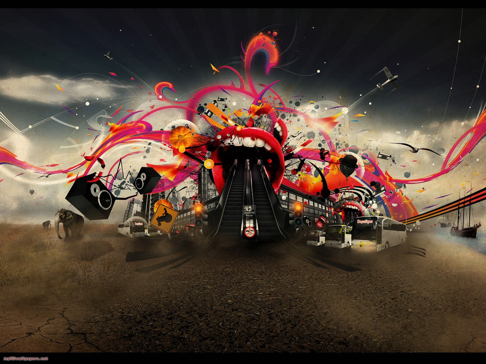Crazy Wallpapers HD