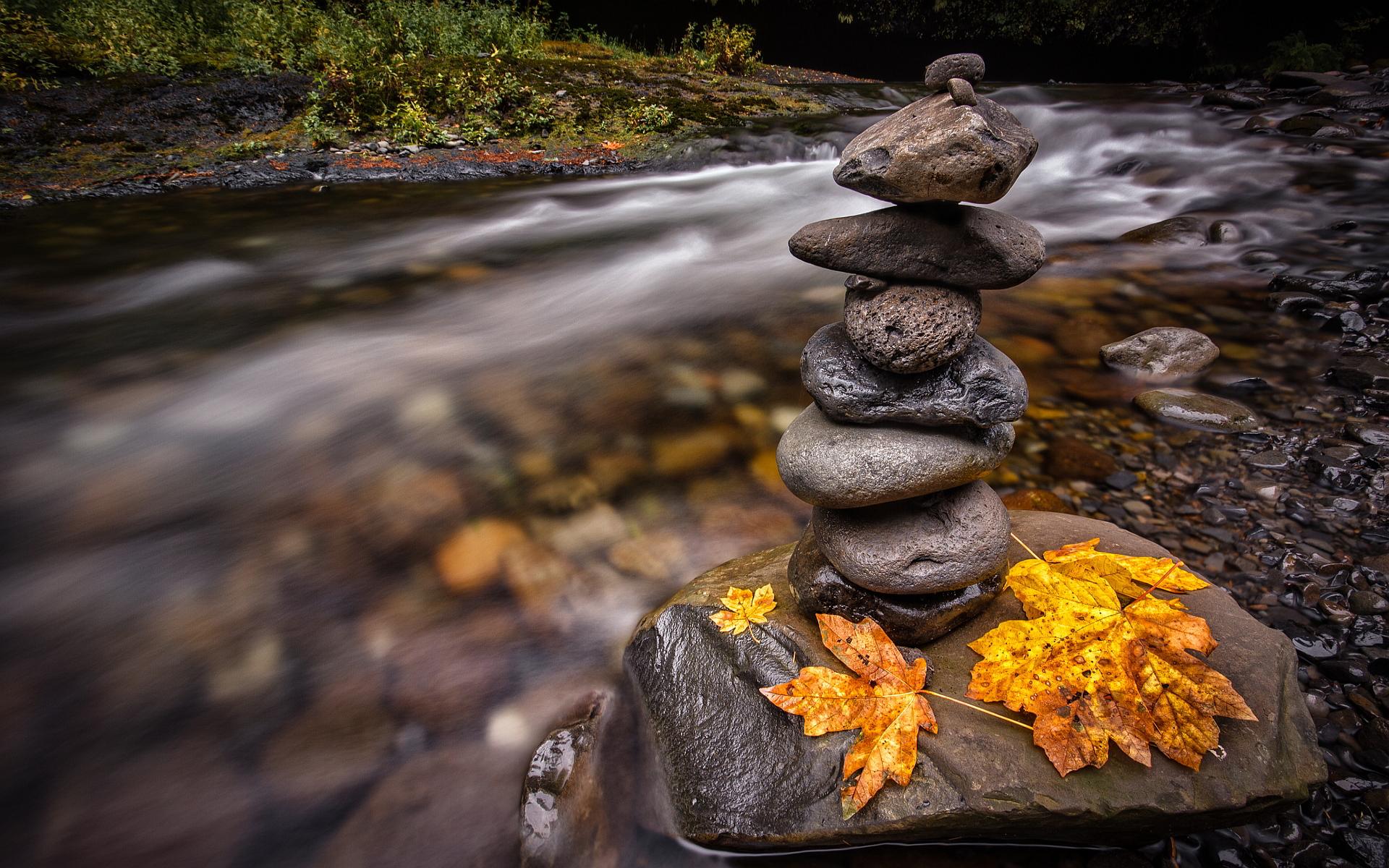 Creek stones