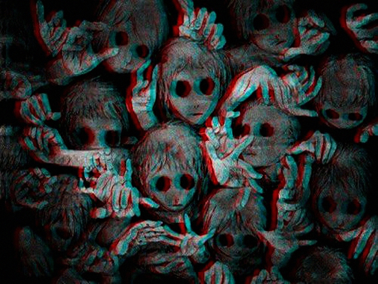 Creepy Wallpaper