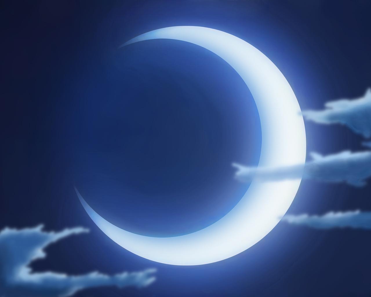 Crescent moon wallpaper 1280x1024 55112 for Cuarto menguante de la luna