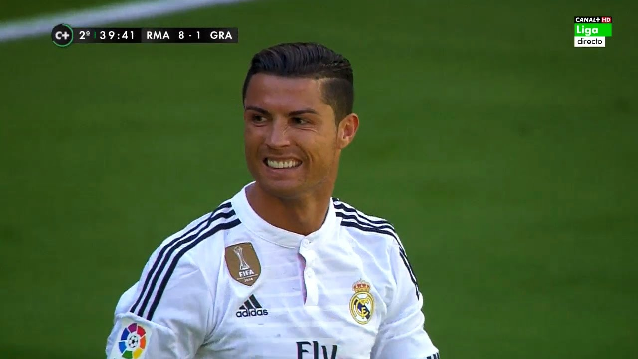 Cristiano Ronaldo vs Granada Home HD 720p (05/04/2015) by MNXHD
