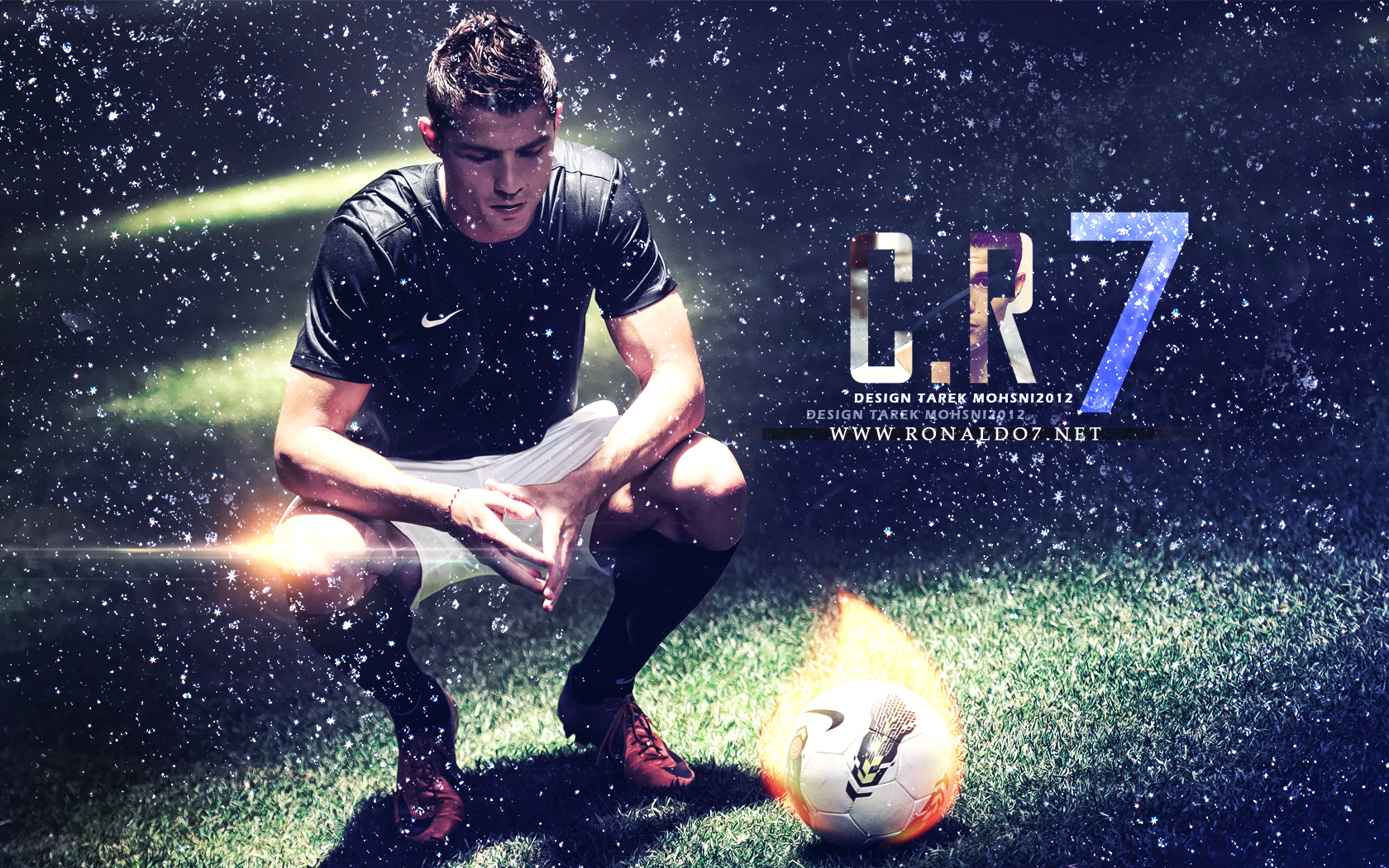 Cristiano Ronaldo Real Madrid Dekstop Desktop Wallpaper