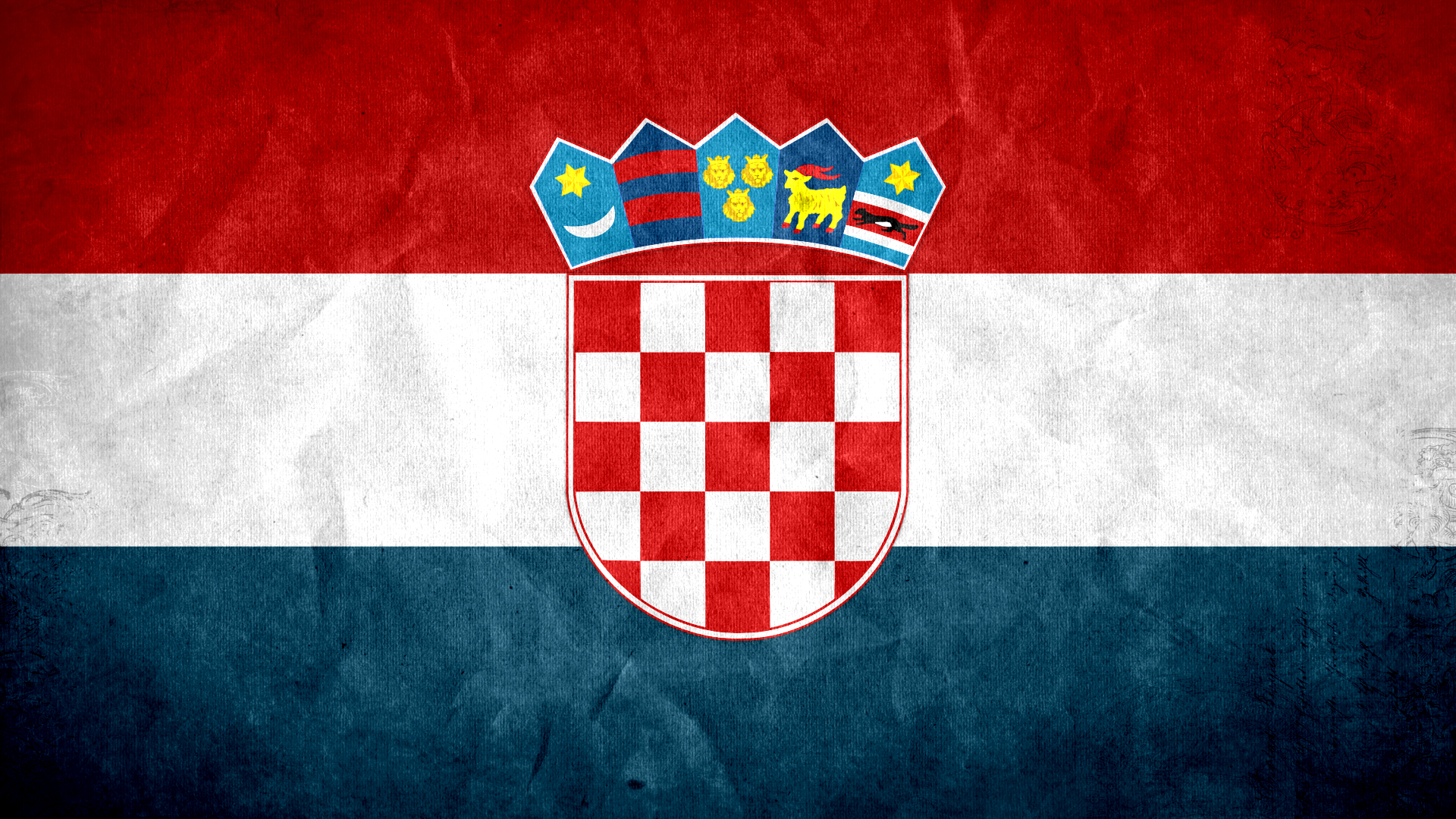 Croatia Flag Wallpaper