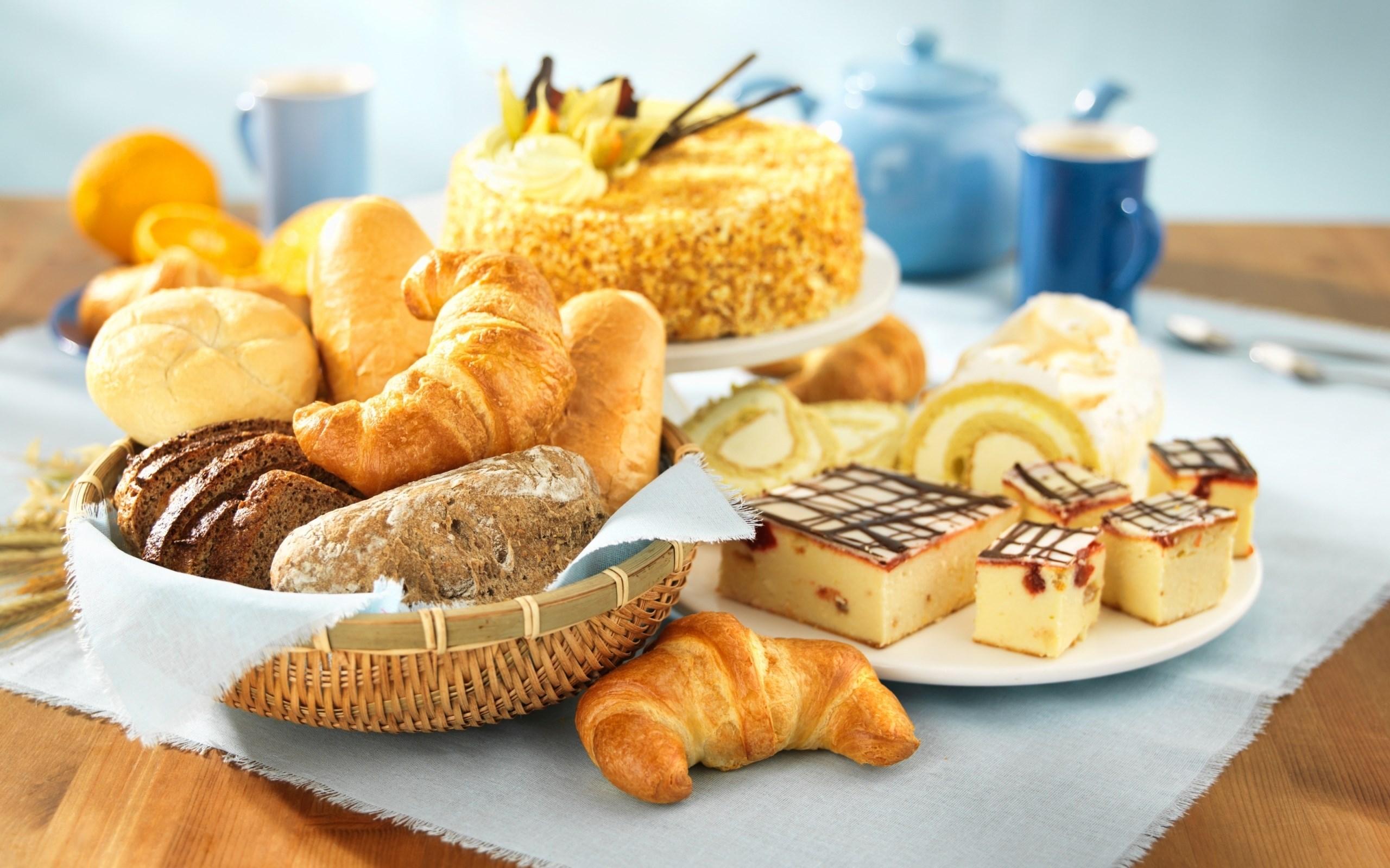 Croissants Cake Bread Rolls Cake Pie