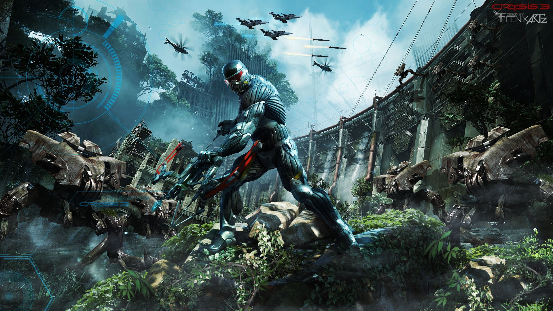 Crysis 3 Background