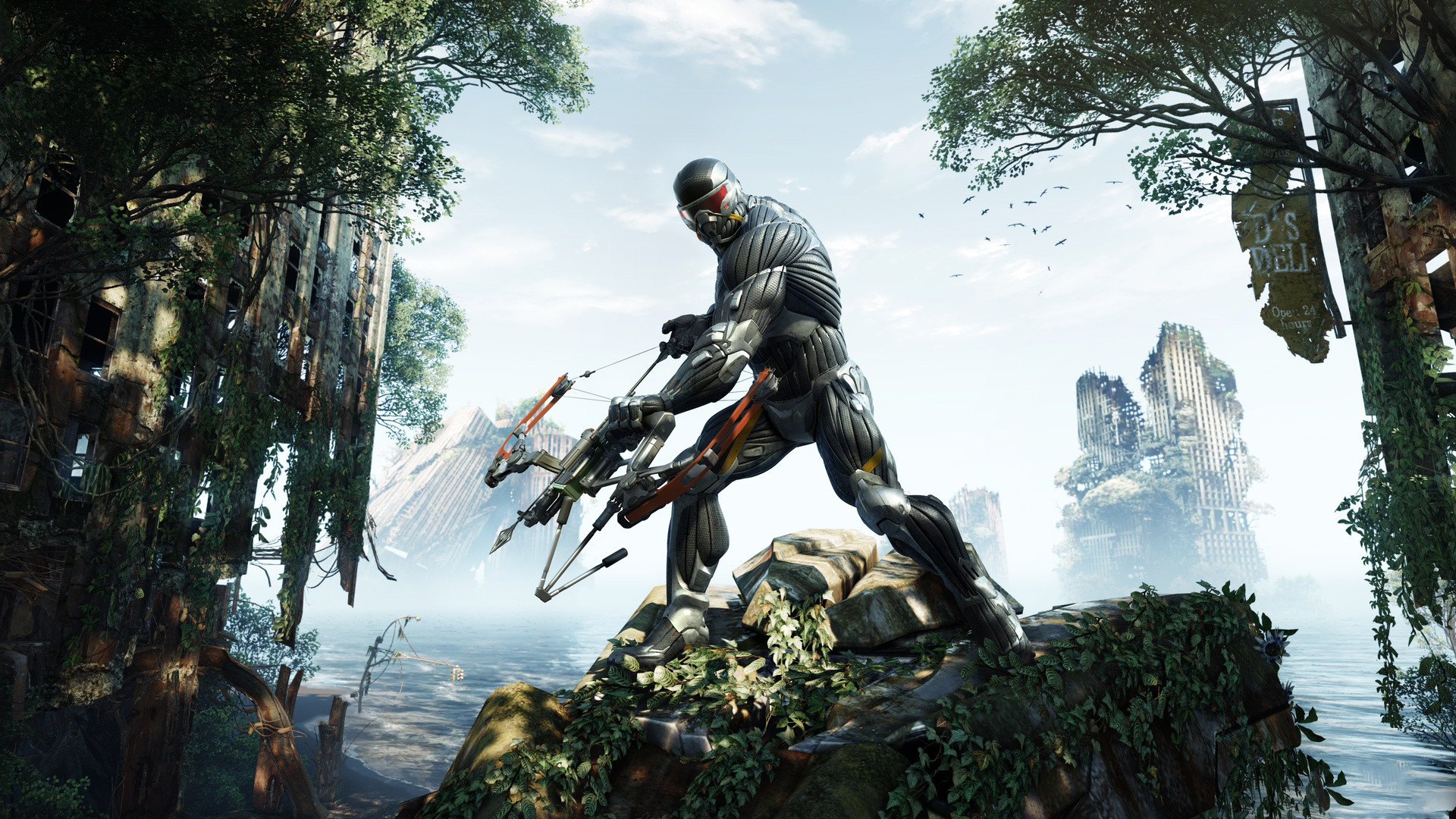 Crysis 3 720p Wallpaper