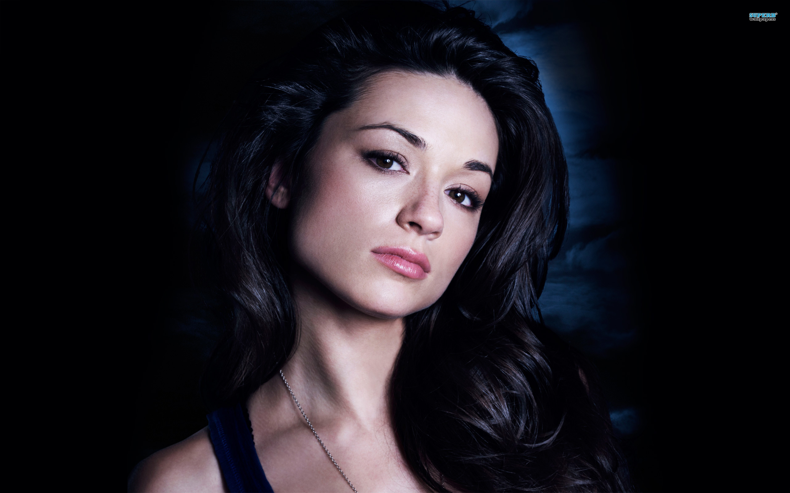 Crystal Reed Background