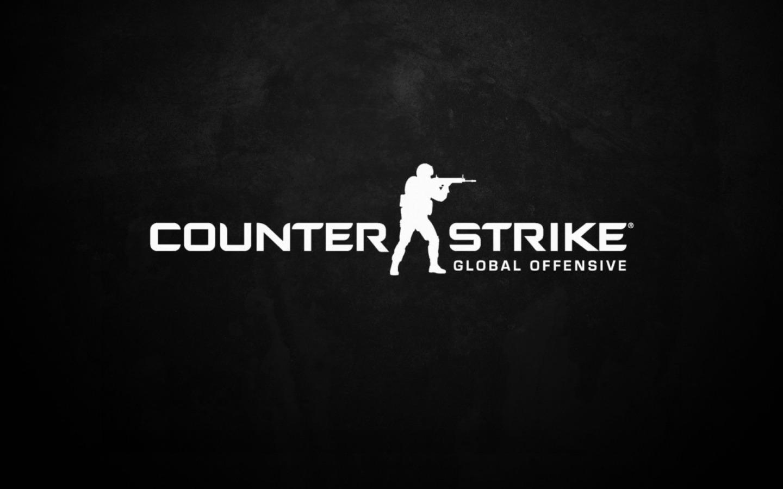 CS Go Logo Wallpaper