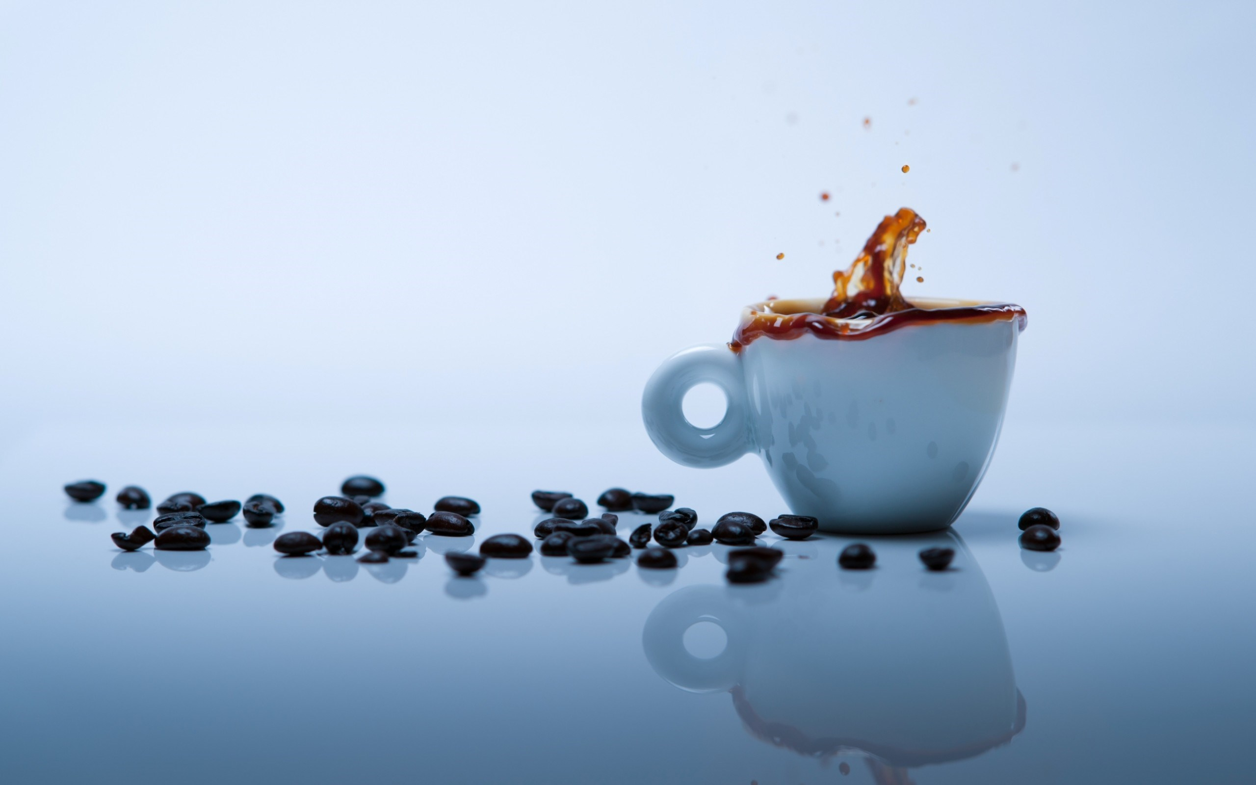 Cup Coffee Splash