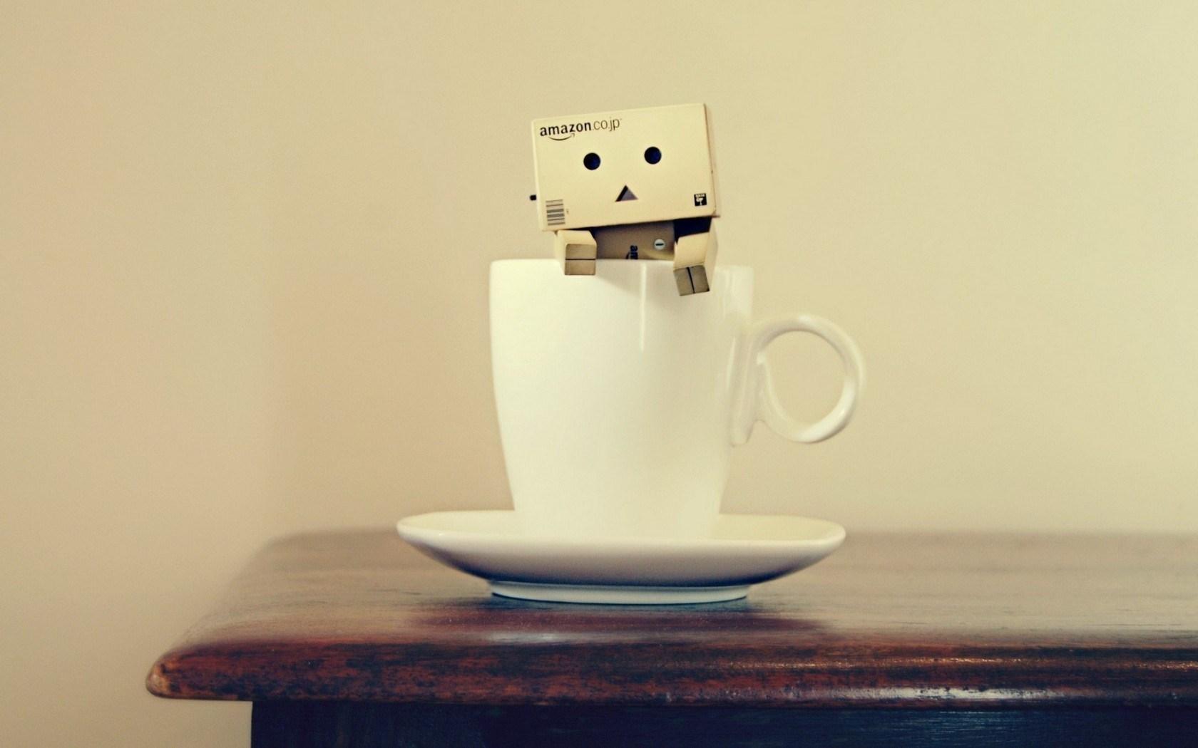 Cup Danbo Box Mood Photo