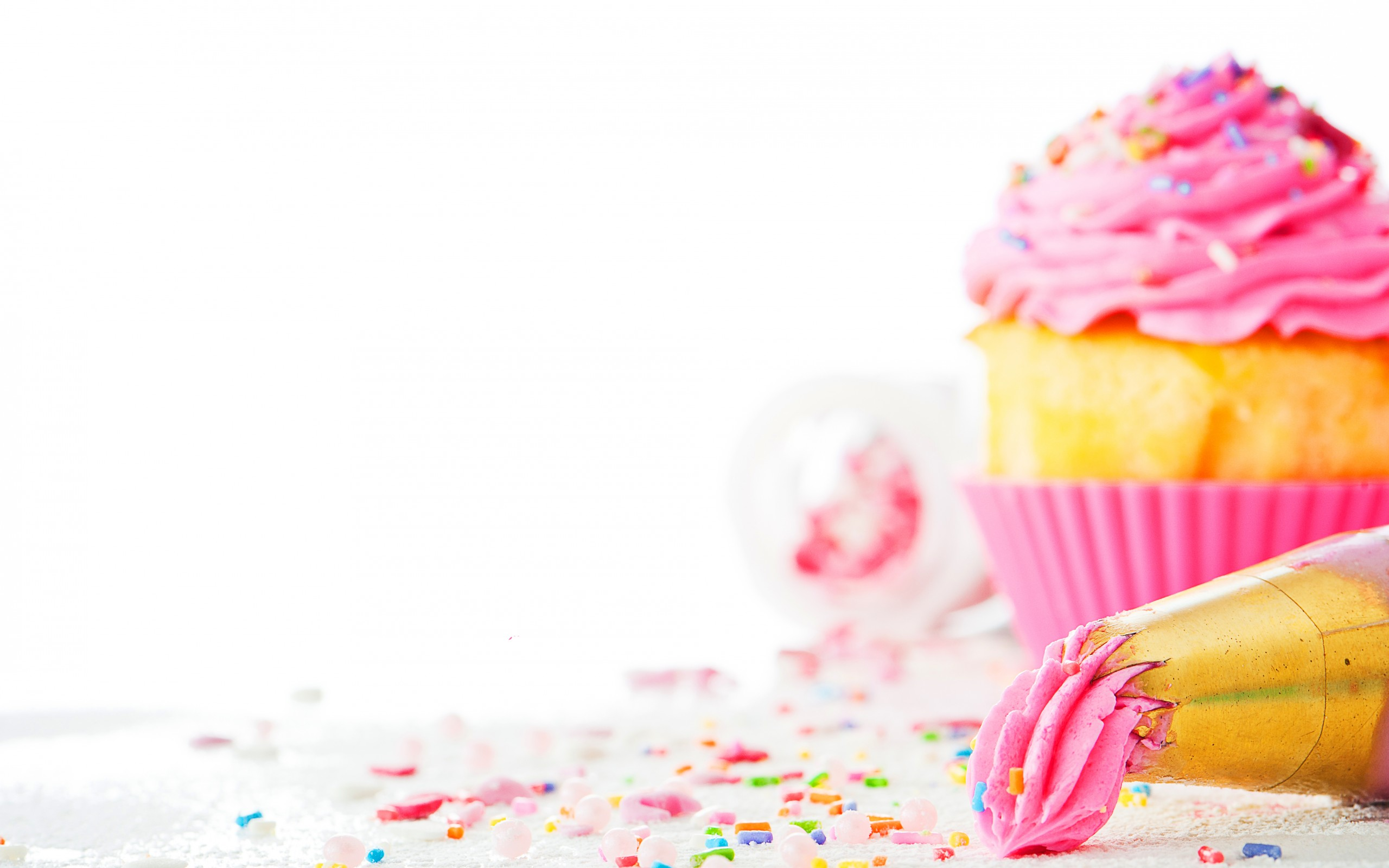 HD Wallpaper | Background ID:363100. 2560x1600 Food Cupcake