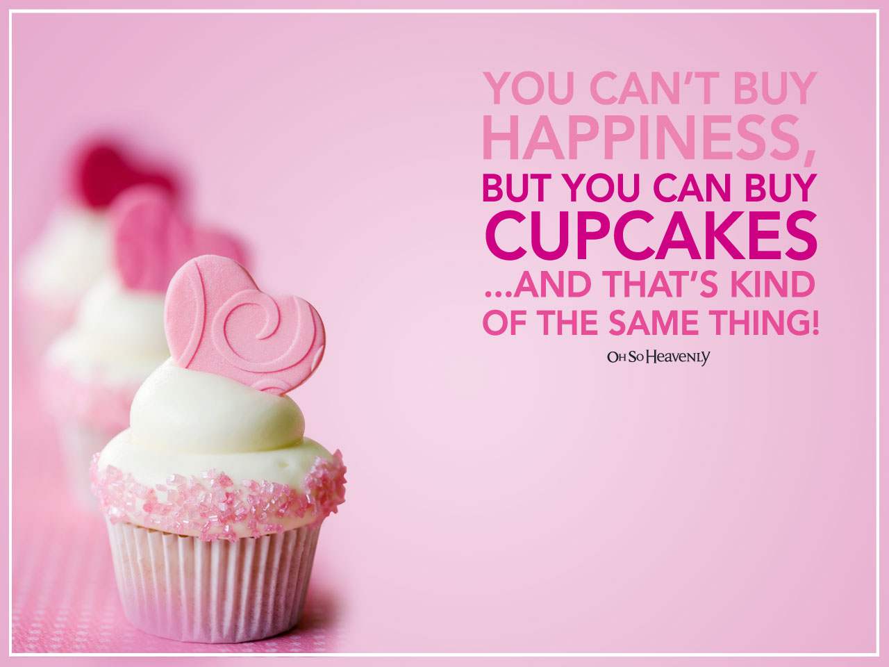 Cute Cupcakes Wallpaper Pretty up your computer