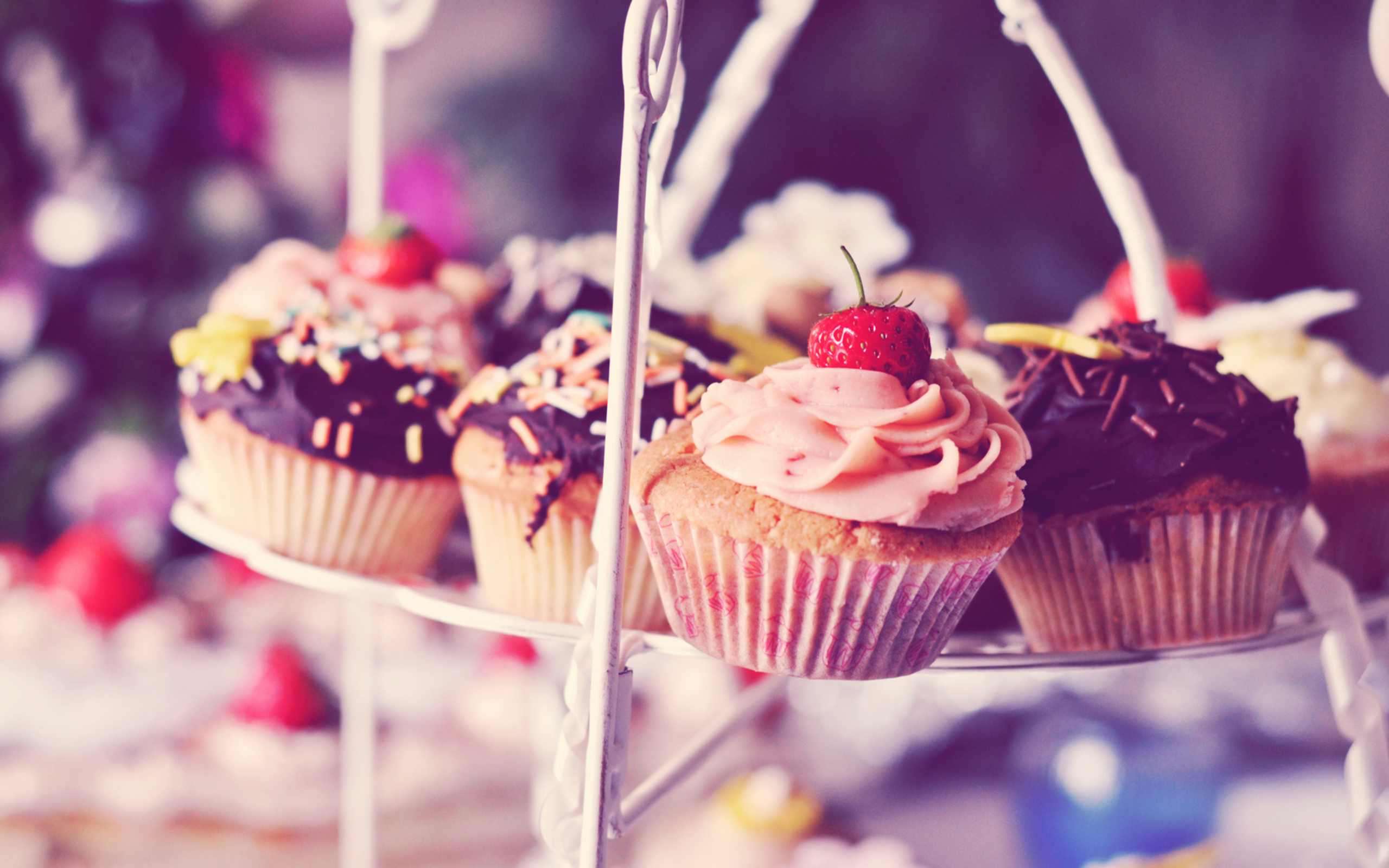 cupcake vintage wallpaper hd
